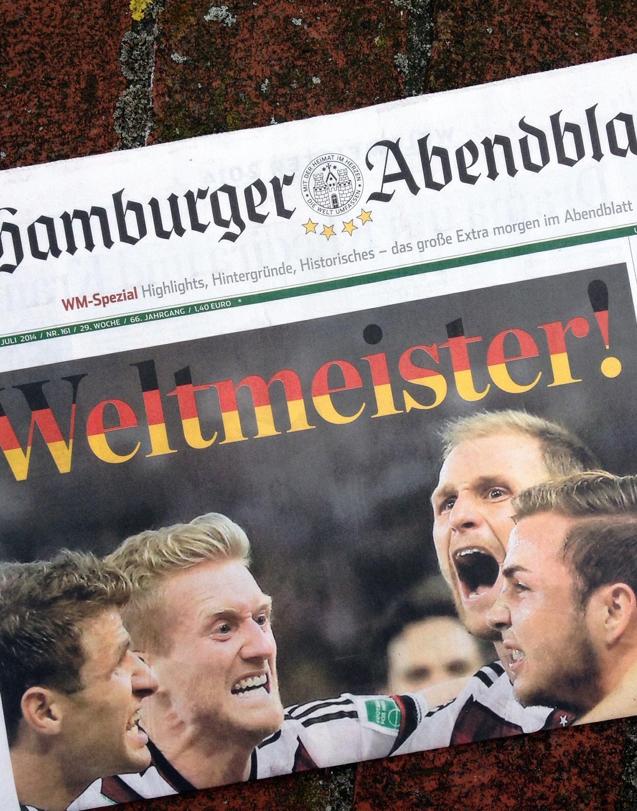 Deutschland Fußball Weltmeister