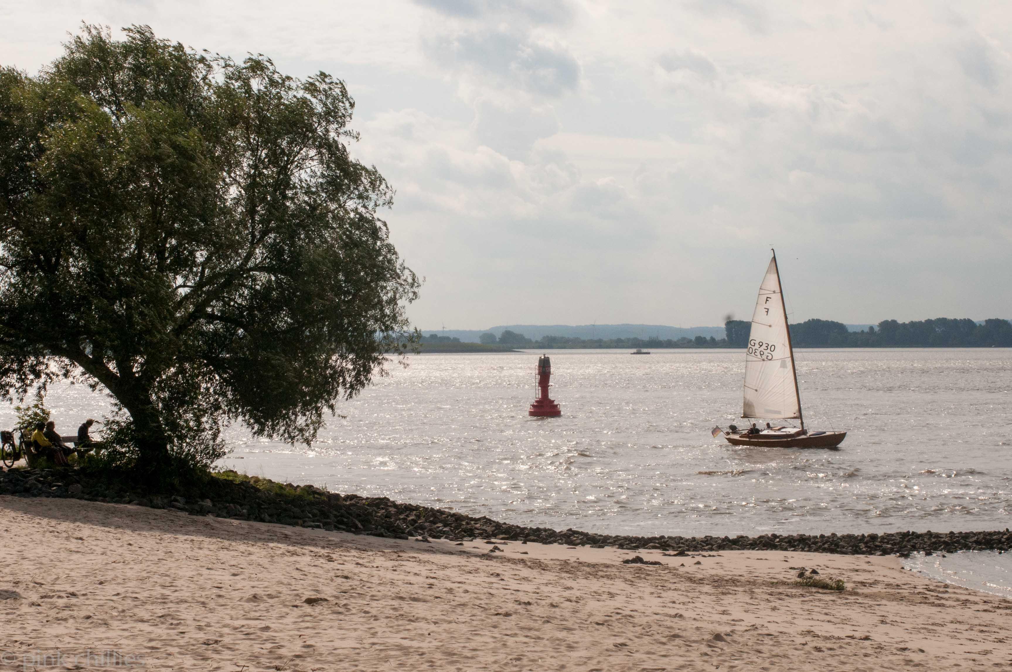Blankenese Elbe Wind