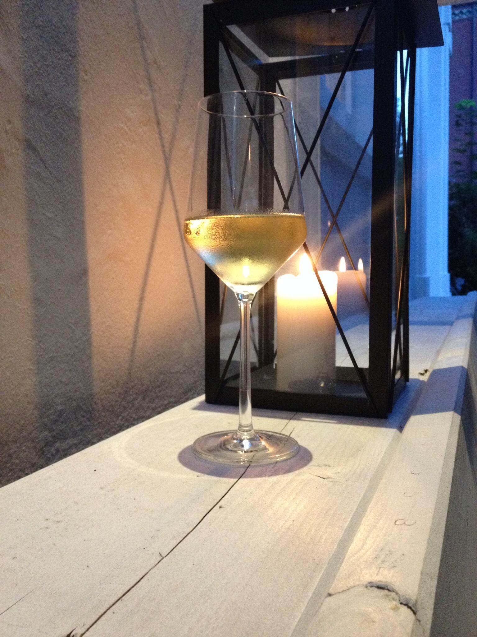 Weißwein Glas
