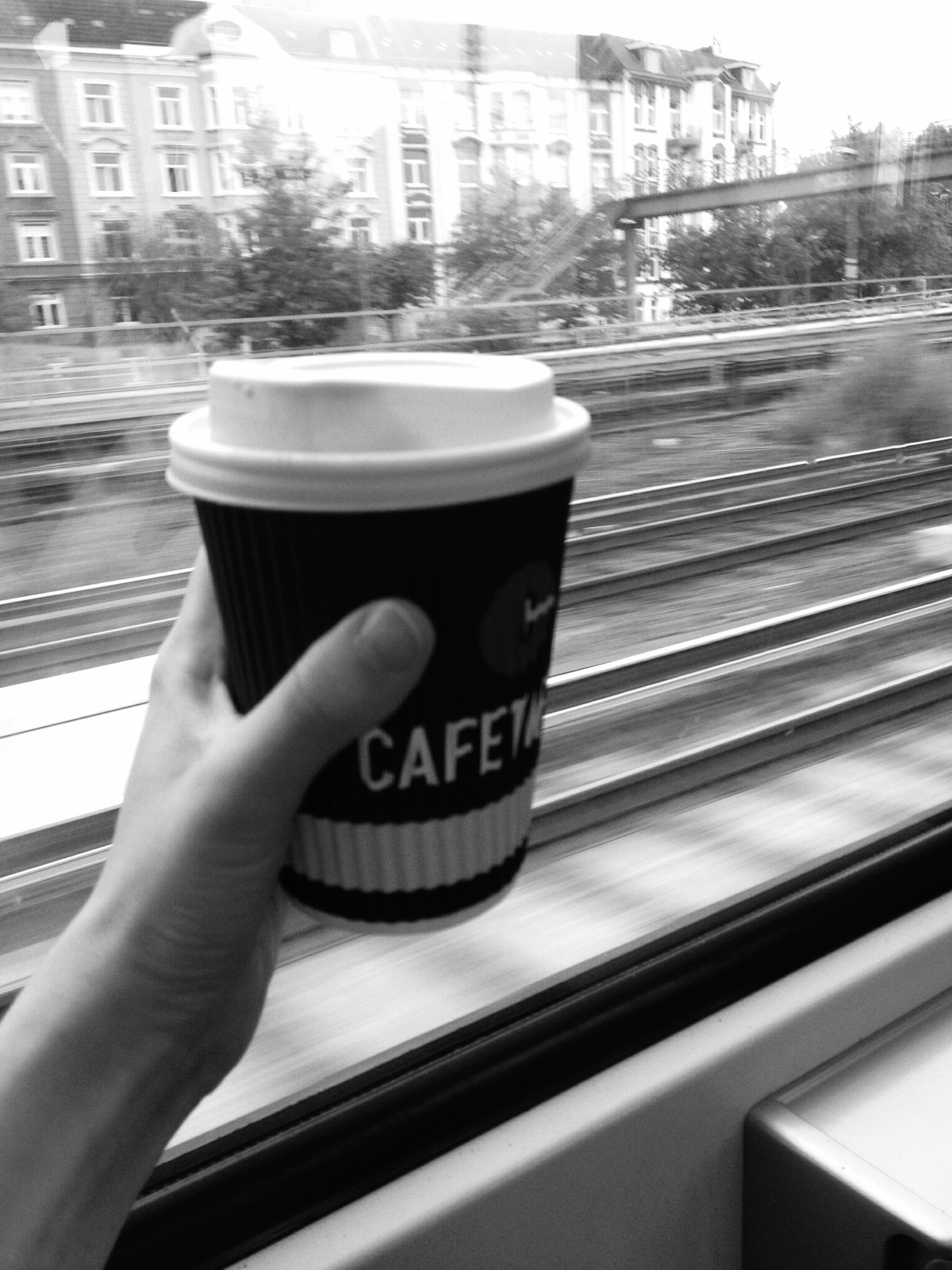 Coffee to go in Hand