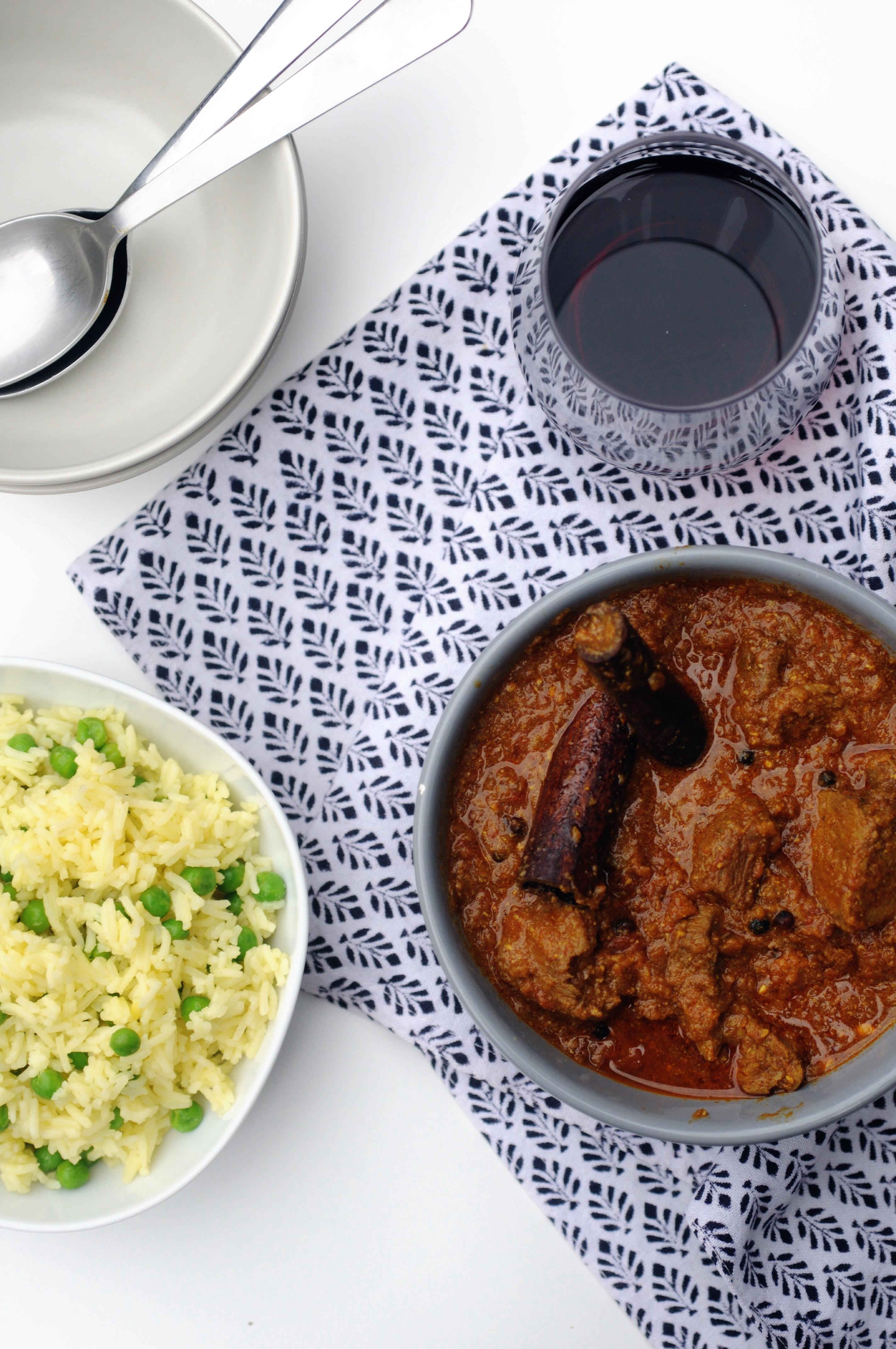Lamm Zimt curry