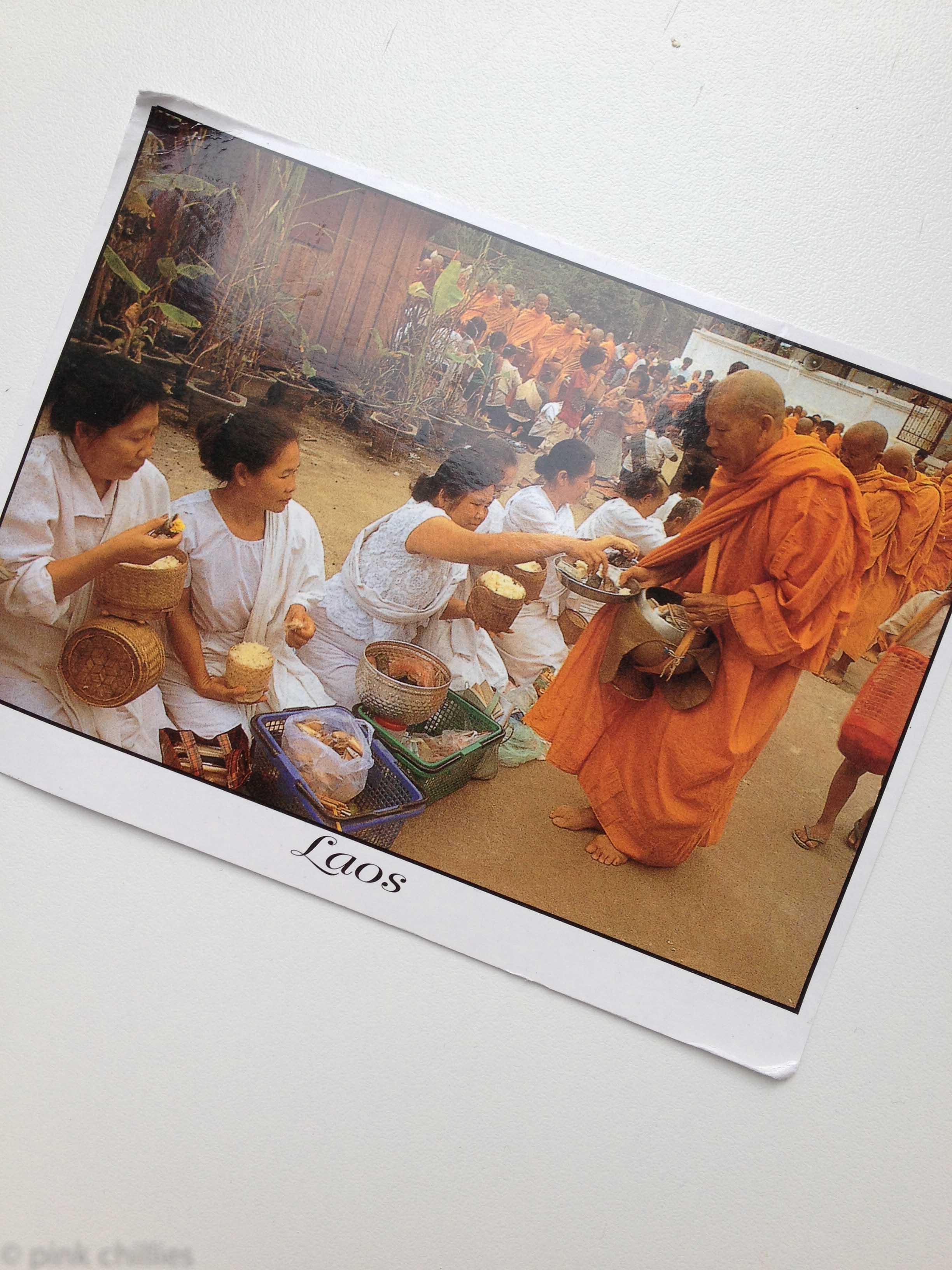 Postkarte aus Laos