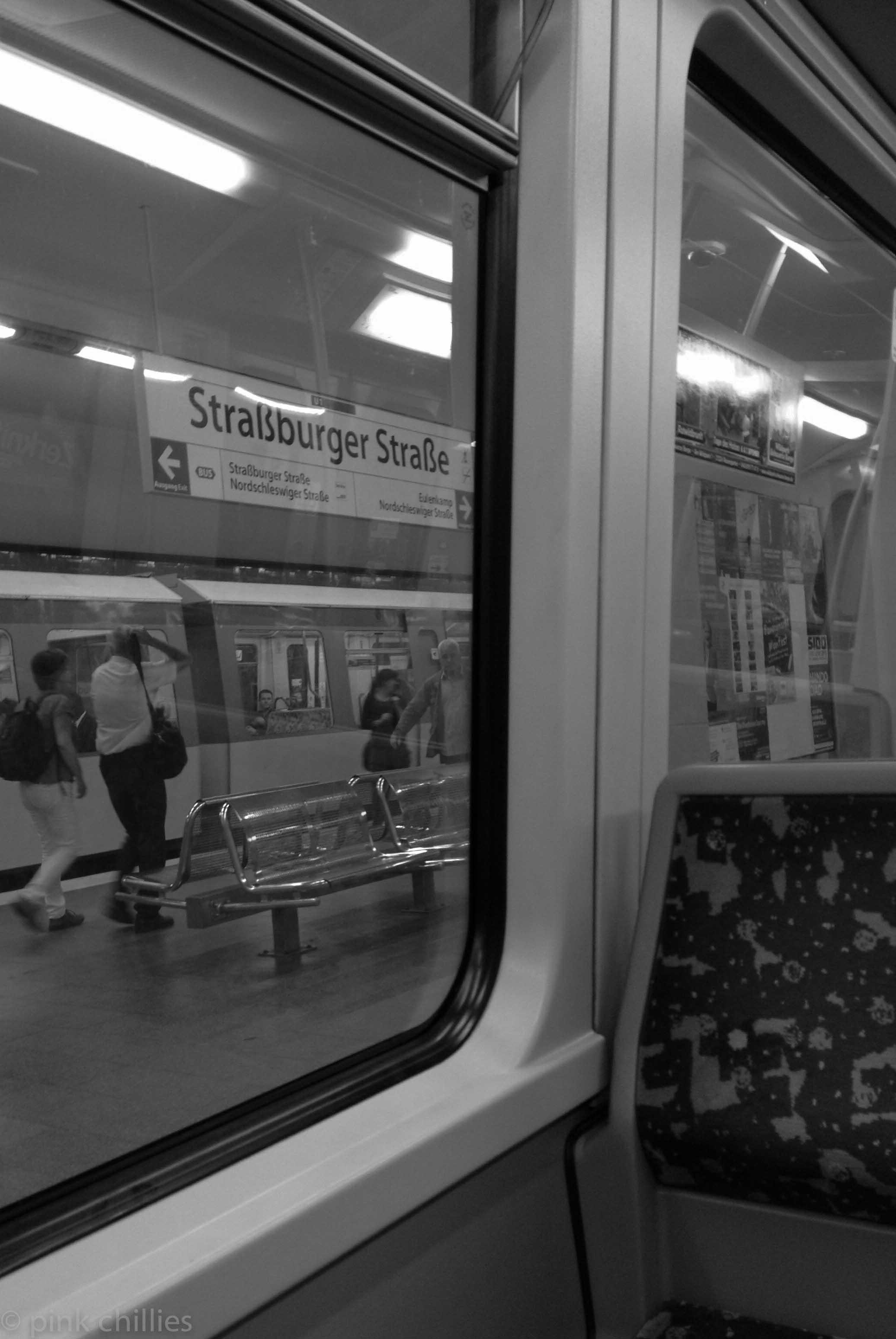 U Bahn Station Straßburger Straße