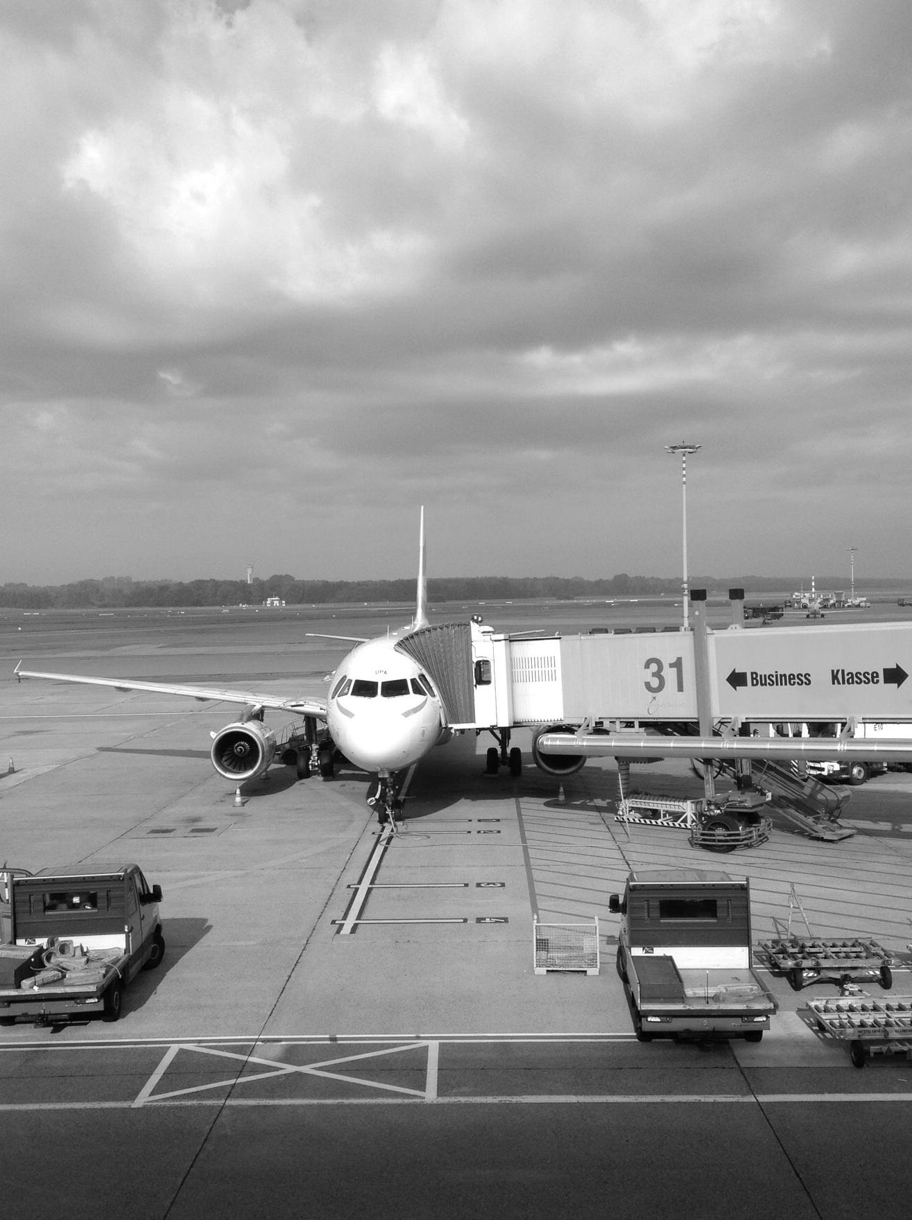 Airbus Flughafen Hamburg