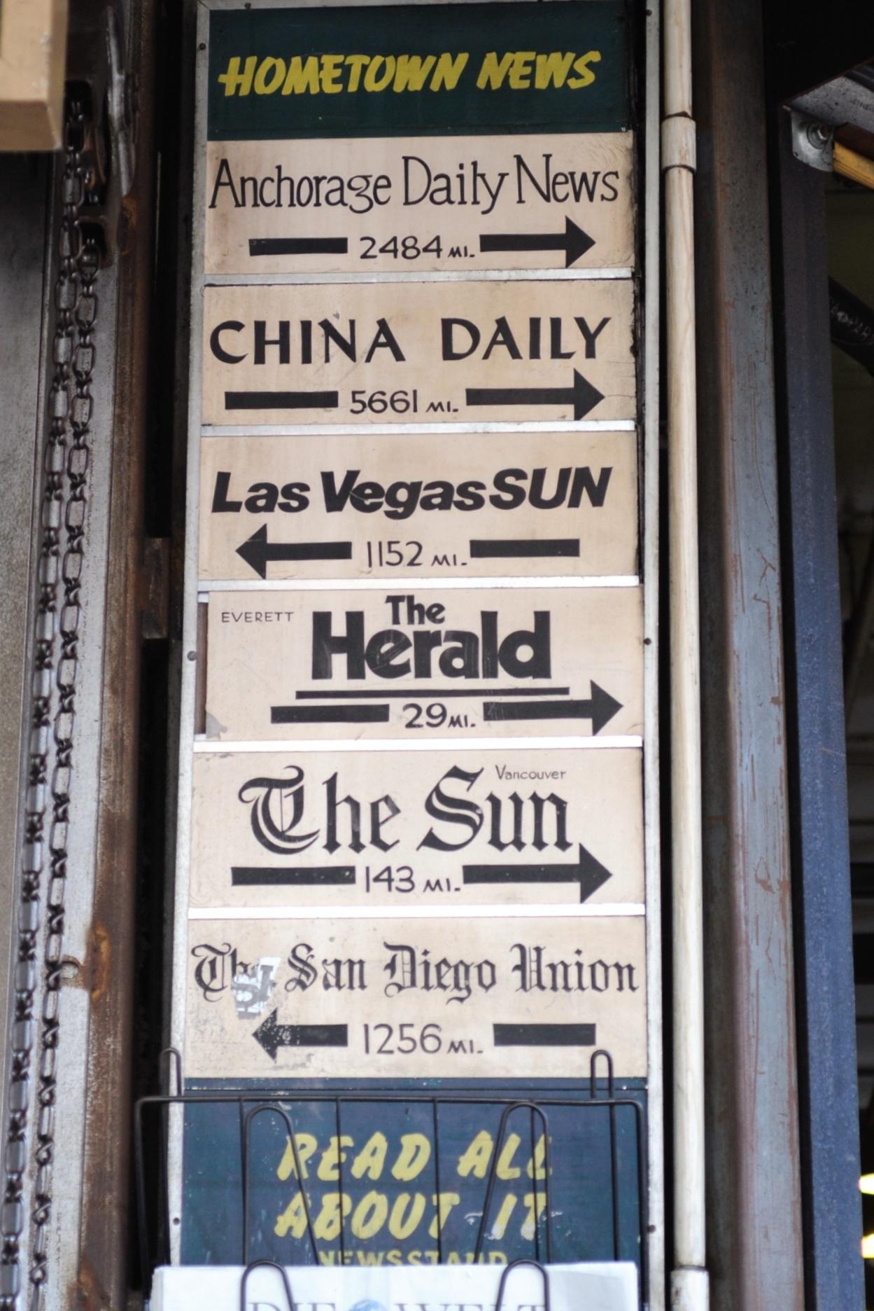 Zeitungsstand
