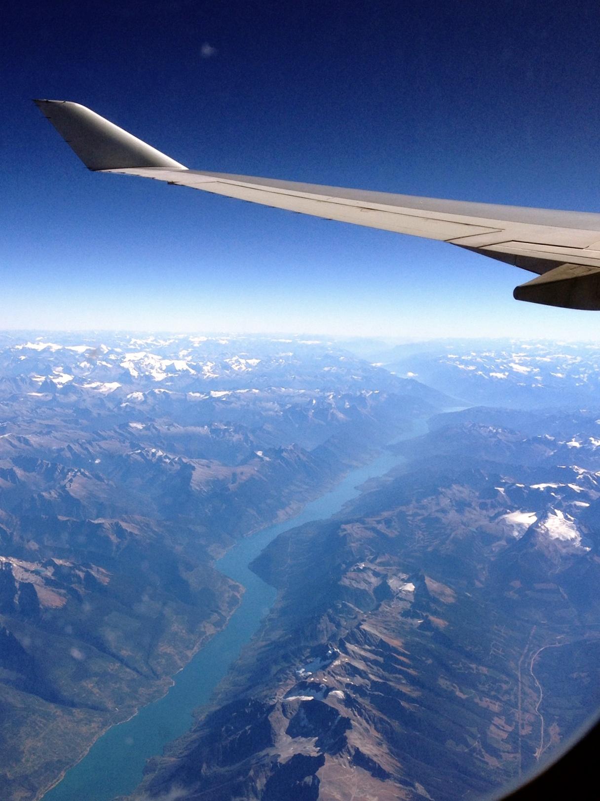 Berglandschaft über Kanada