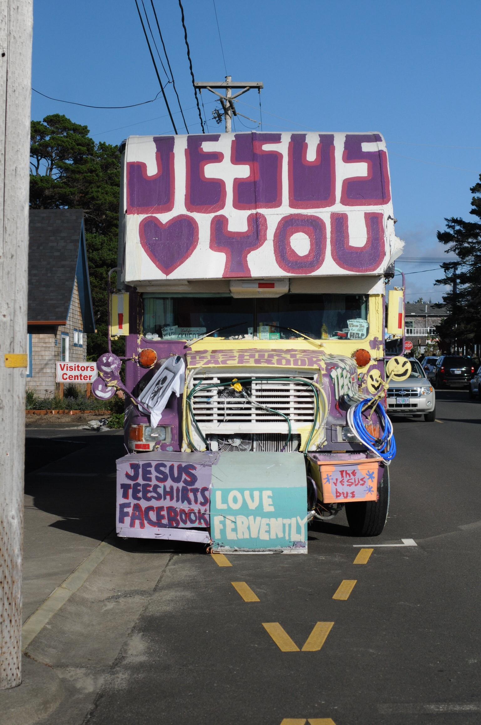 RV Jesus loves you