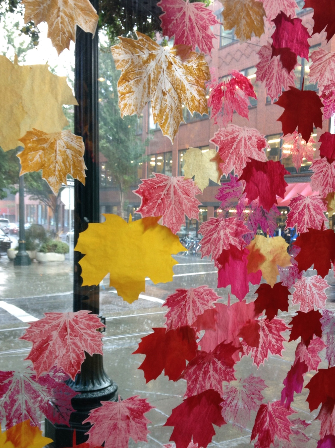 Starkregen Portland