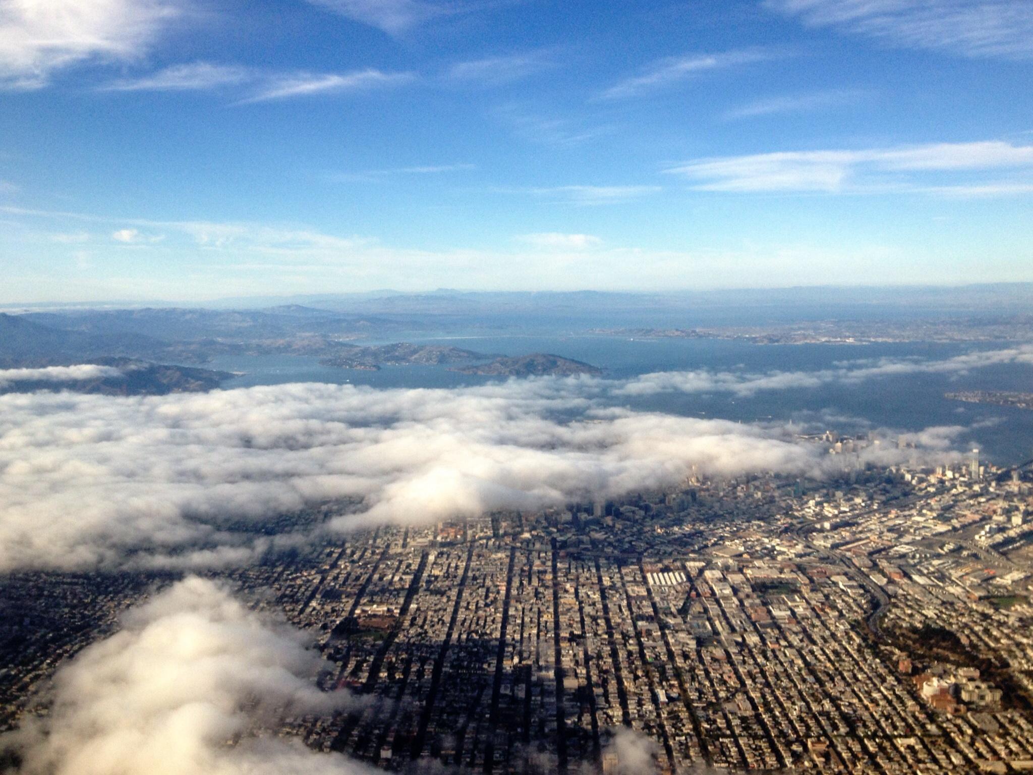 San Francisco aus der Vogelperspektive