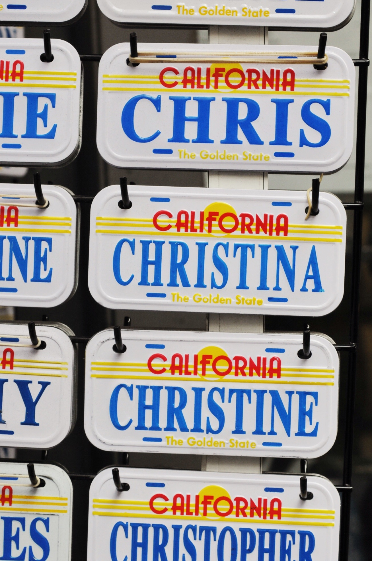 NAmensschild Christine