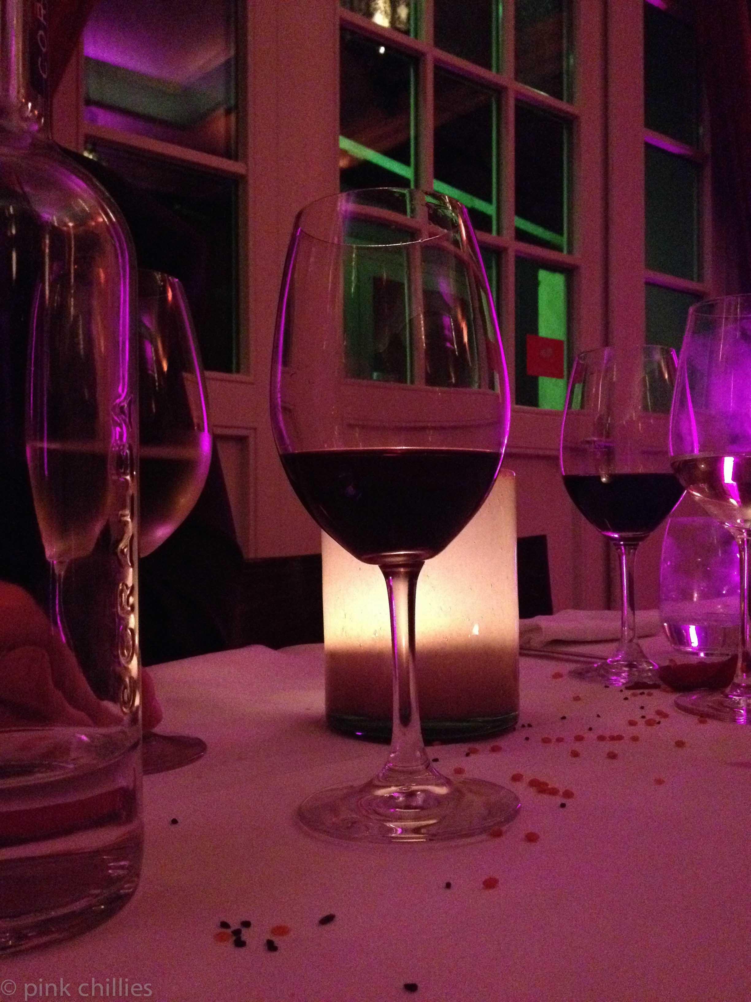 weihnachtsfeier rotwein