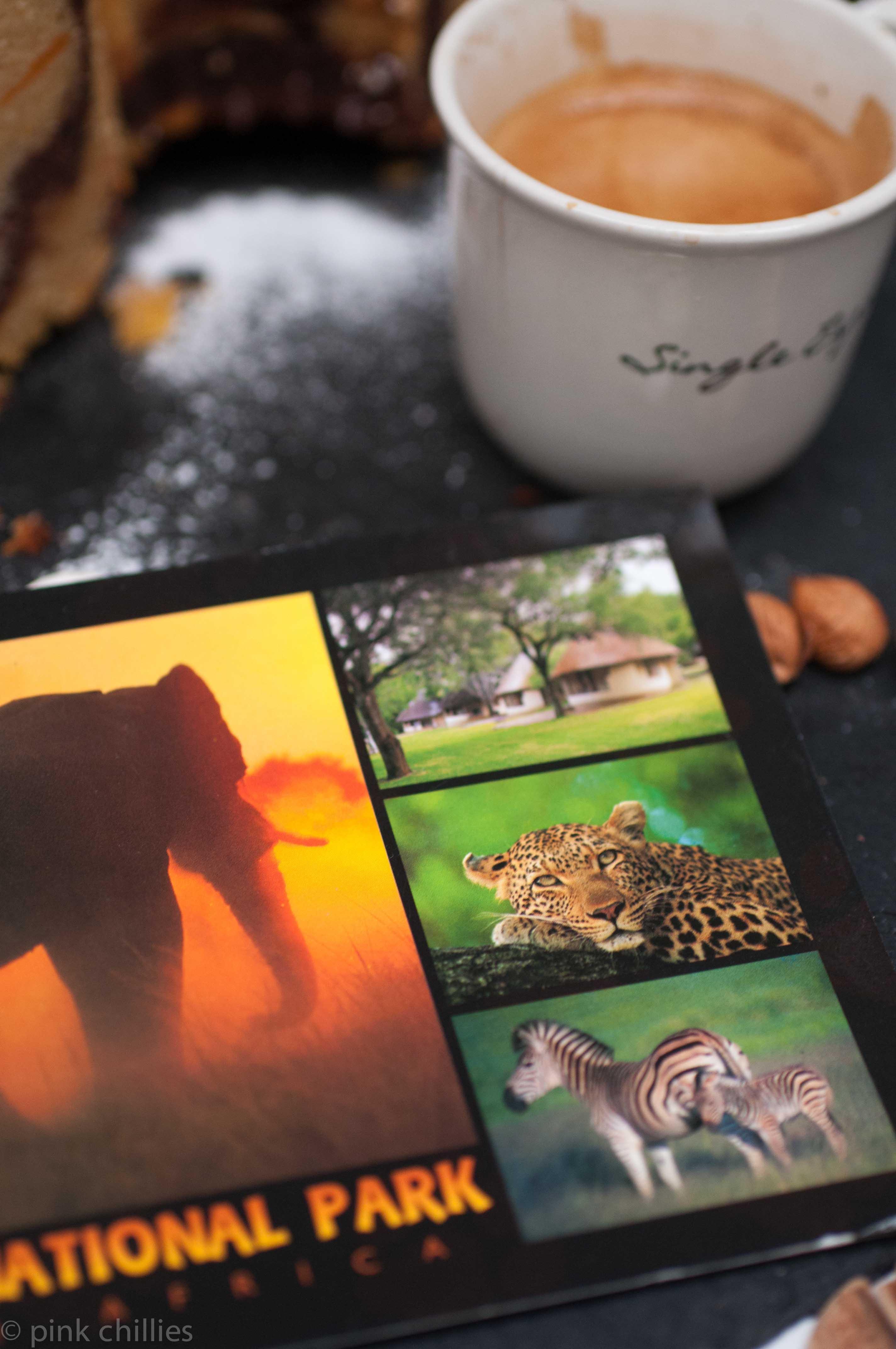 Postkarte aus Afrika