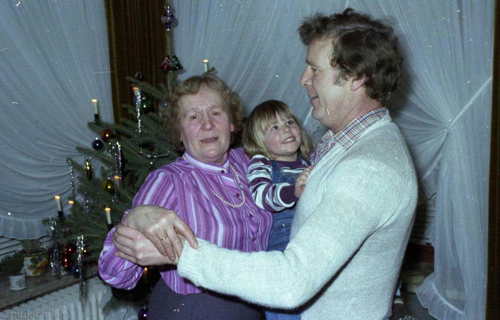 Onkel Helmut und Oma