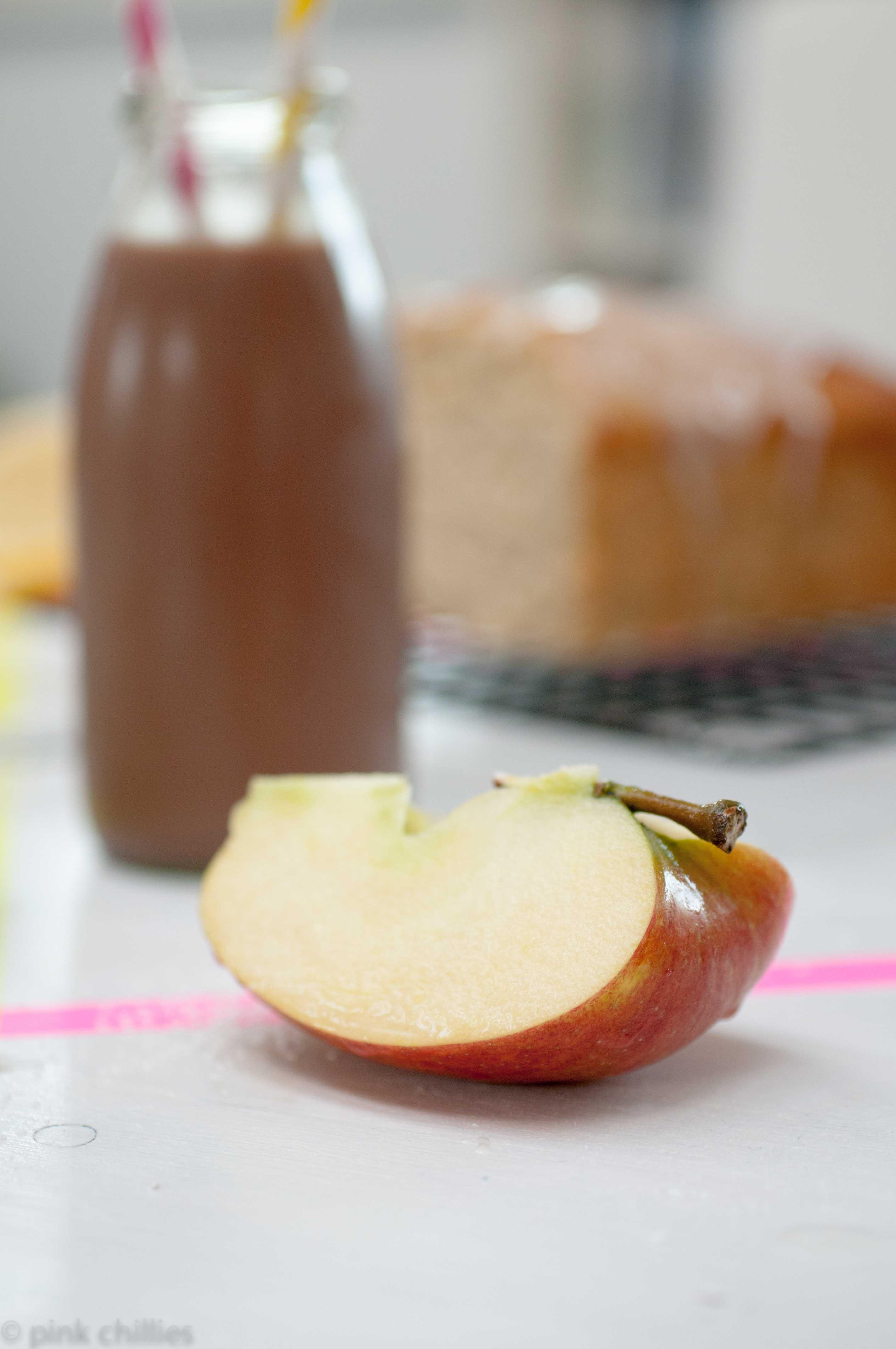 glutenfreier Apfel Marzipan Kuchen