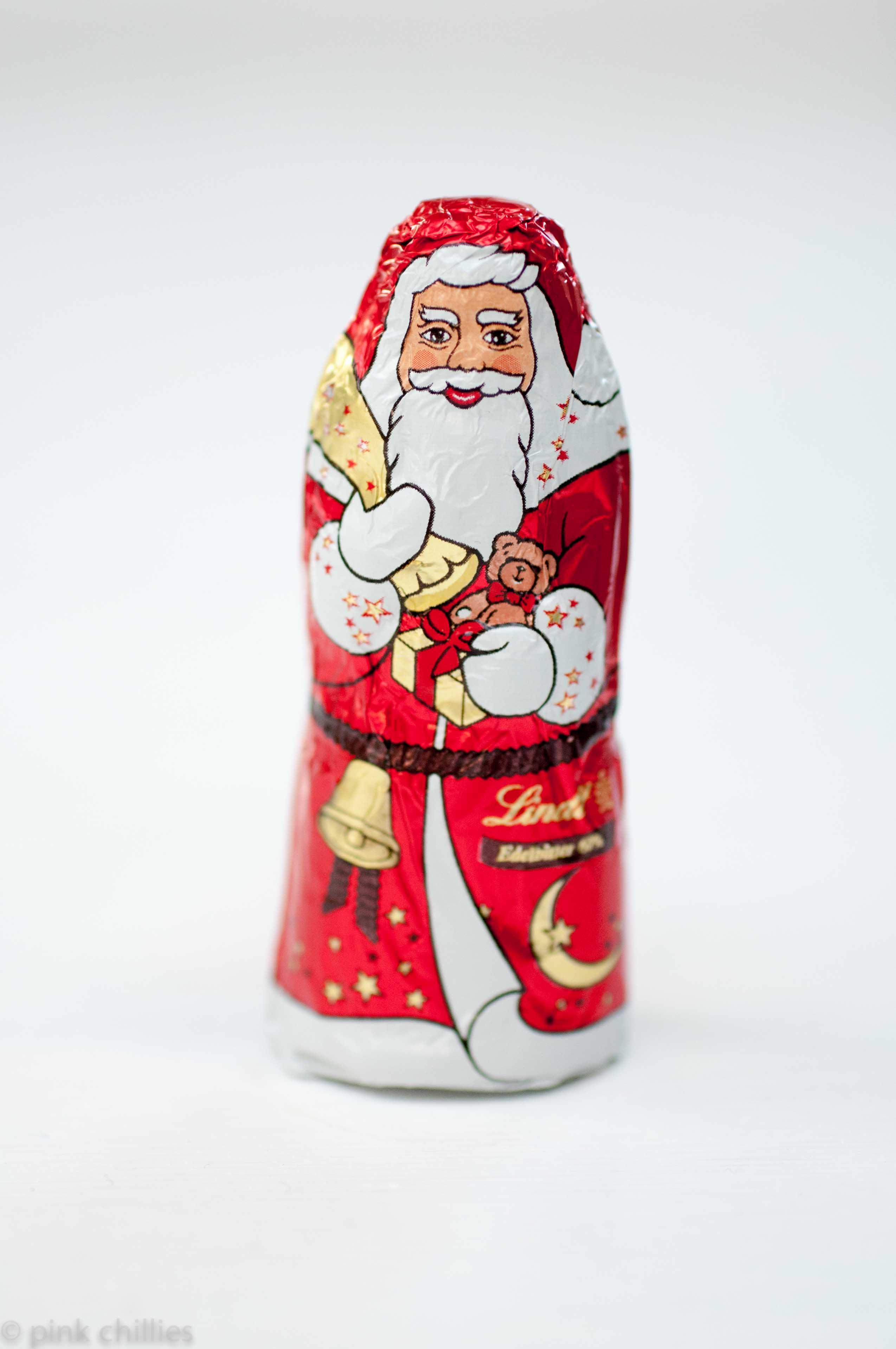 Lindt Weihnachtsmann in Edelbitter