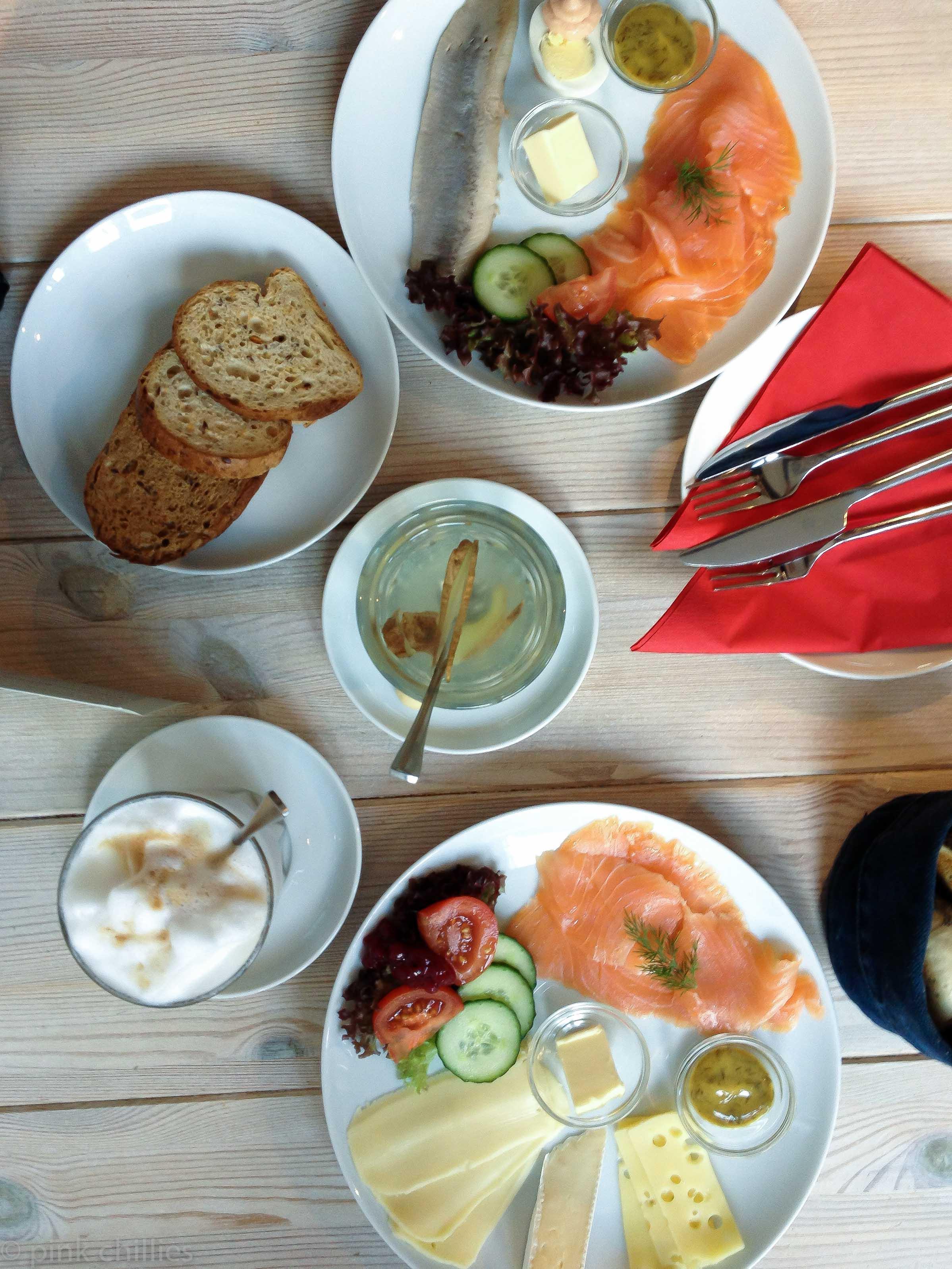 Frühstück im Café Saltkrakan