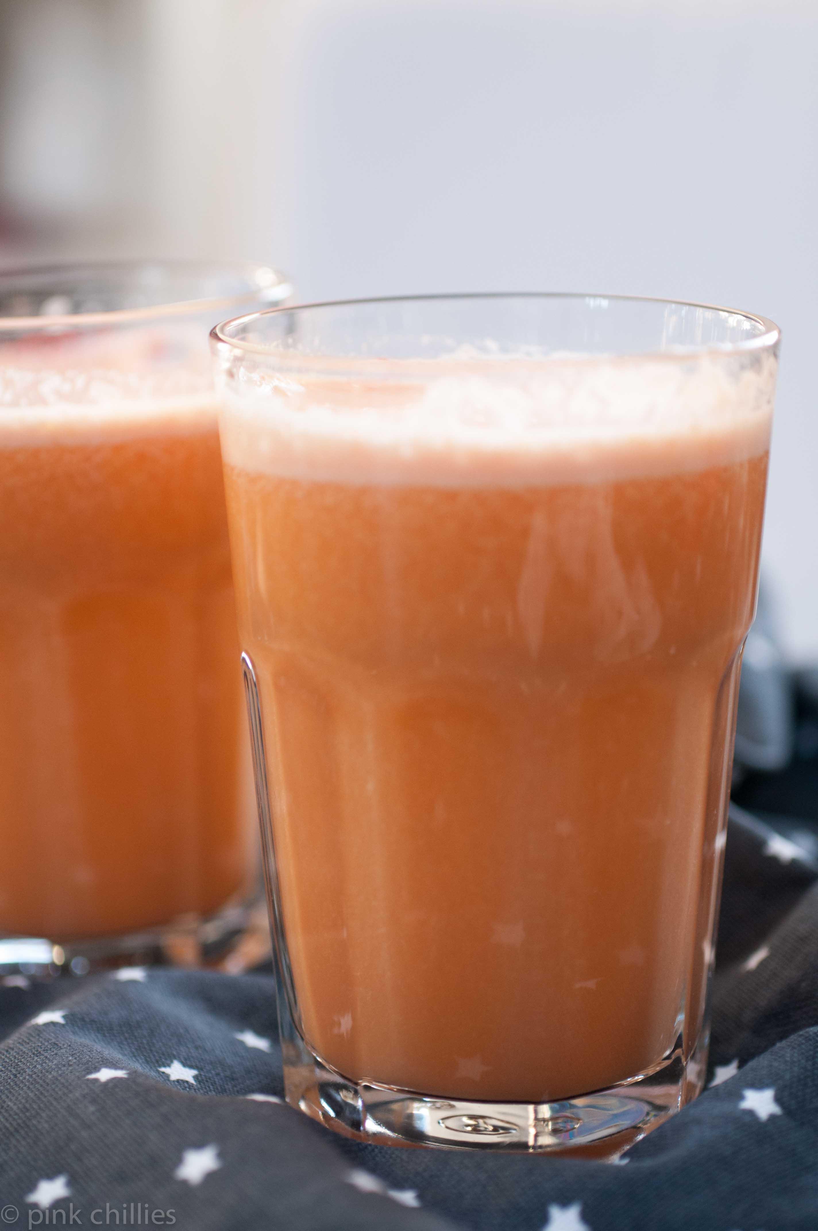 Süßkartoffel-Mango-Drink