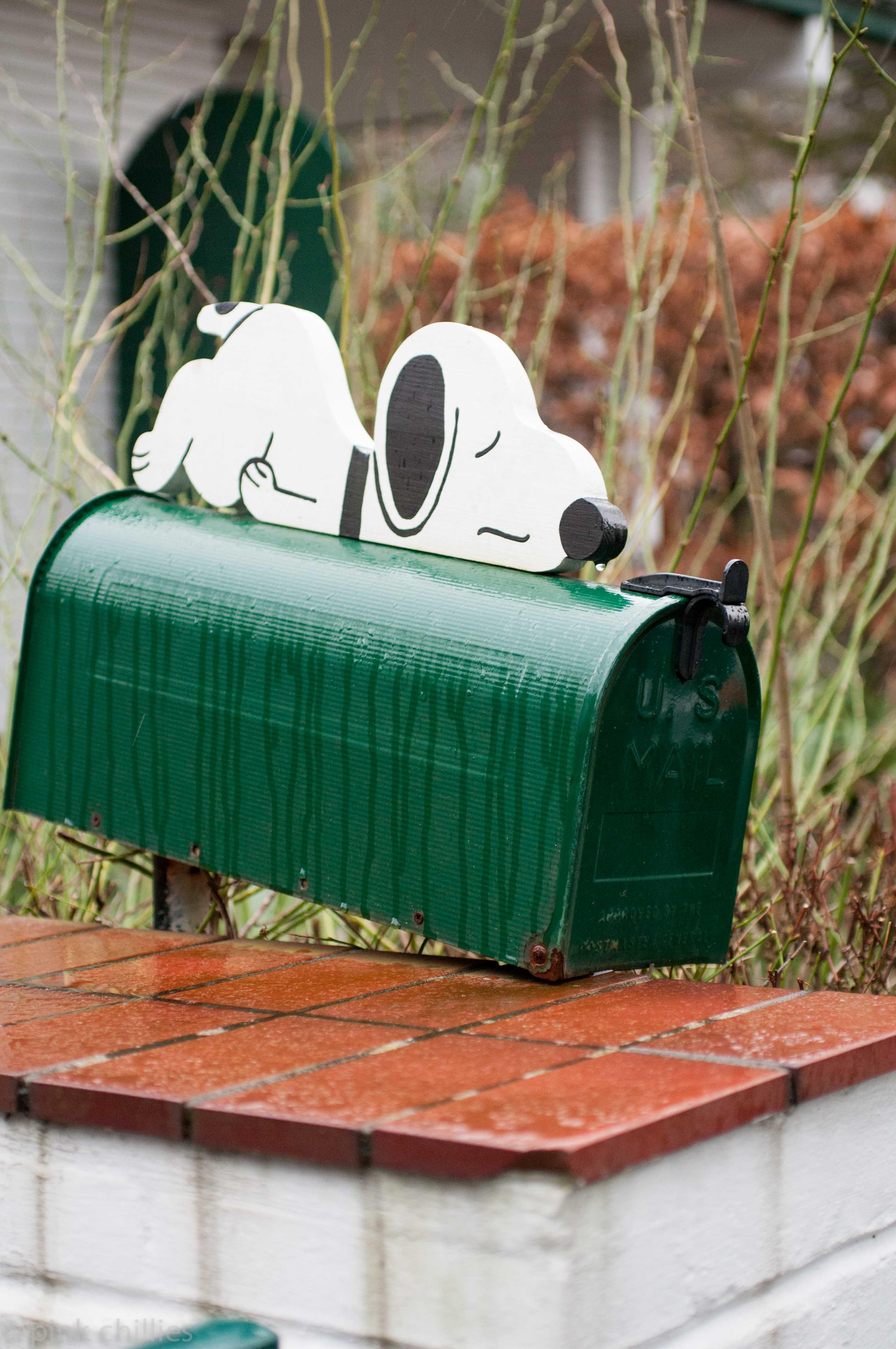 Snoopy Briefkasten