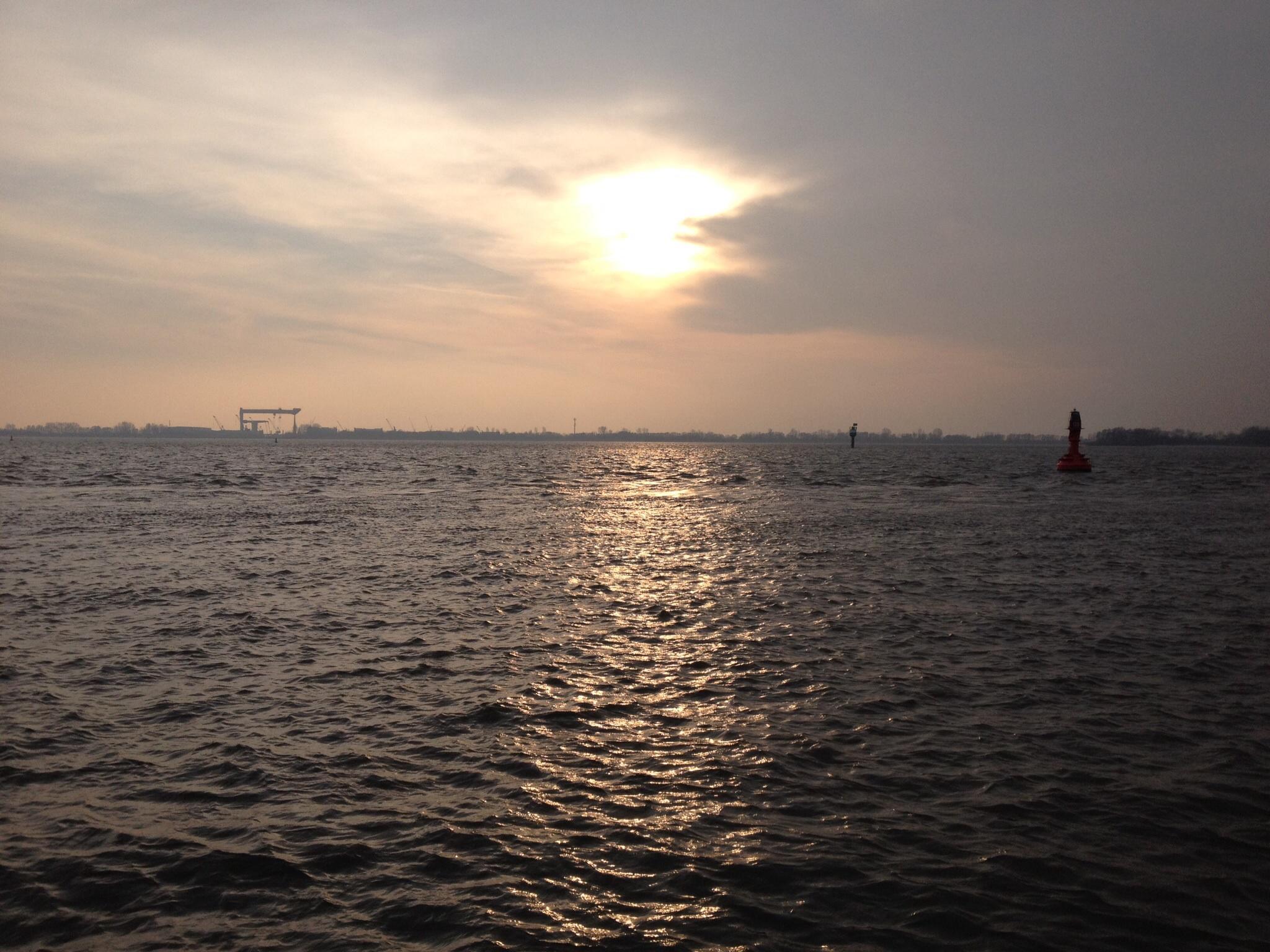 Elbe Hamburg Blankenese