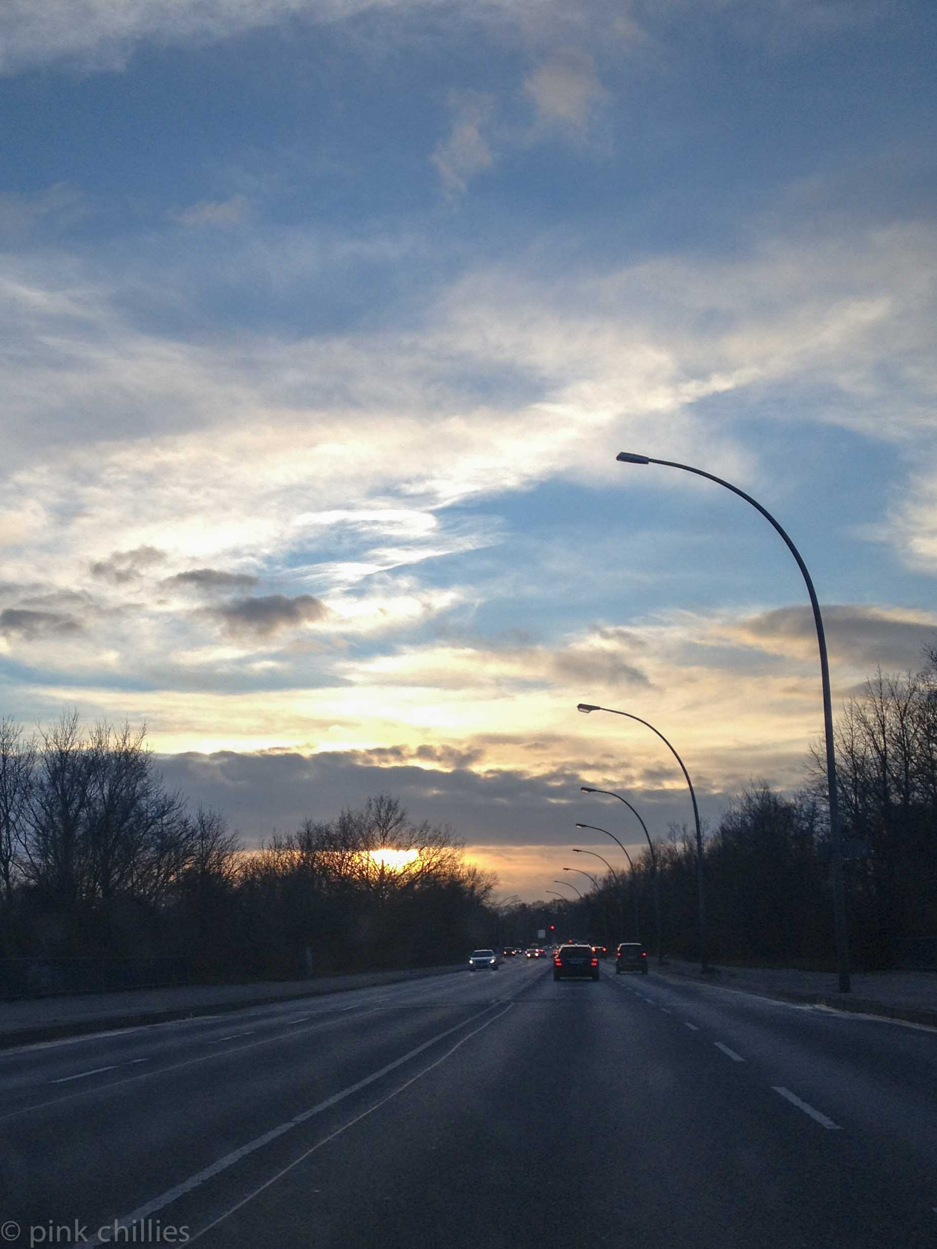 Nachmittagslicht im Winter