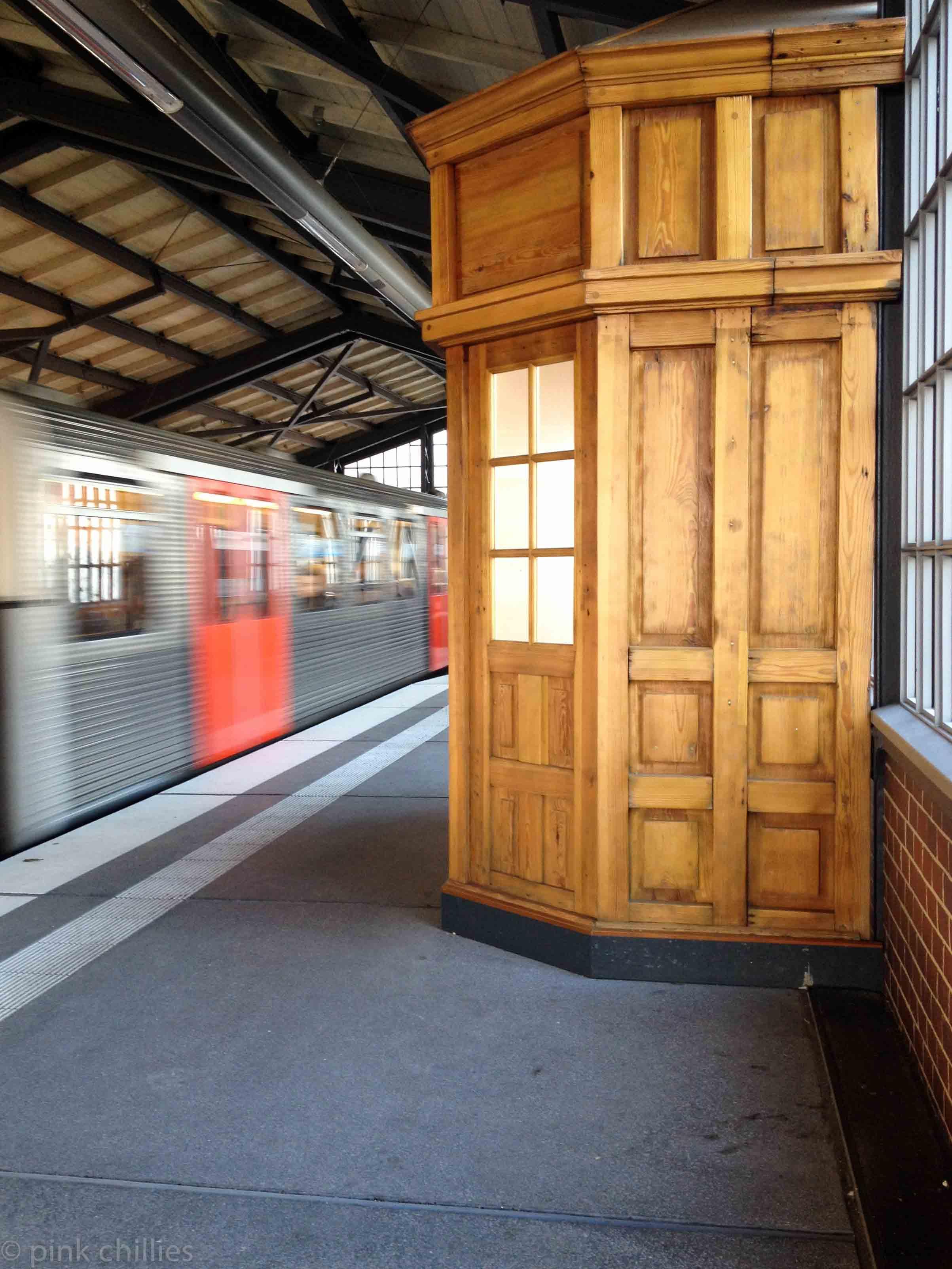 U-Bahn Station in Hamburg