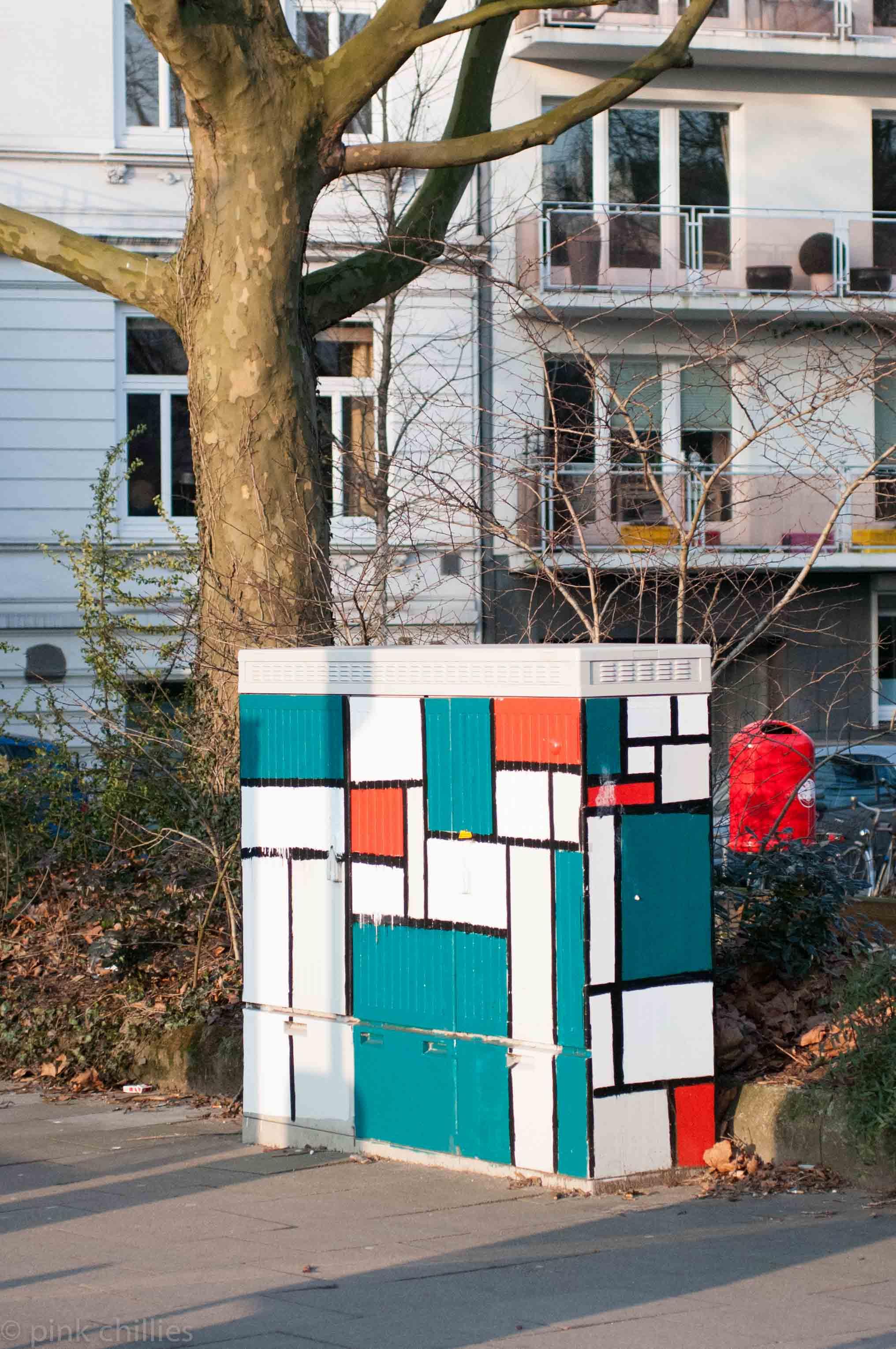 Verteilerkasten Mondrian