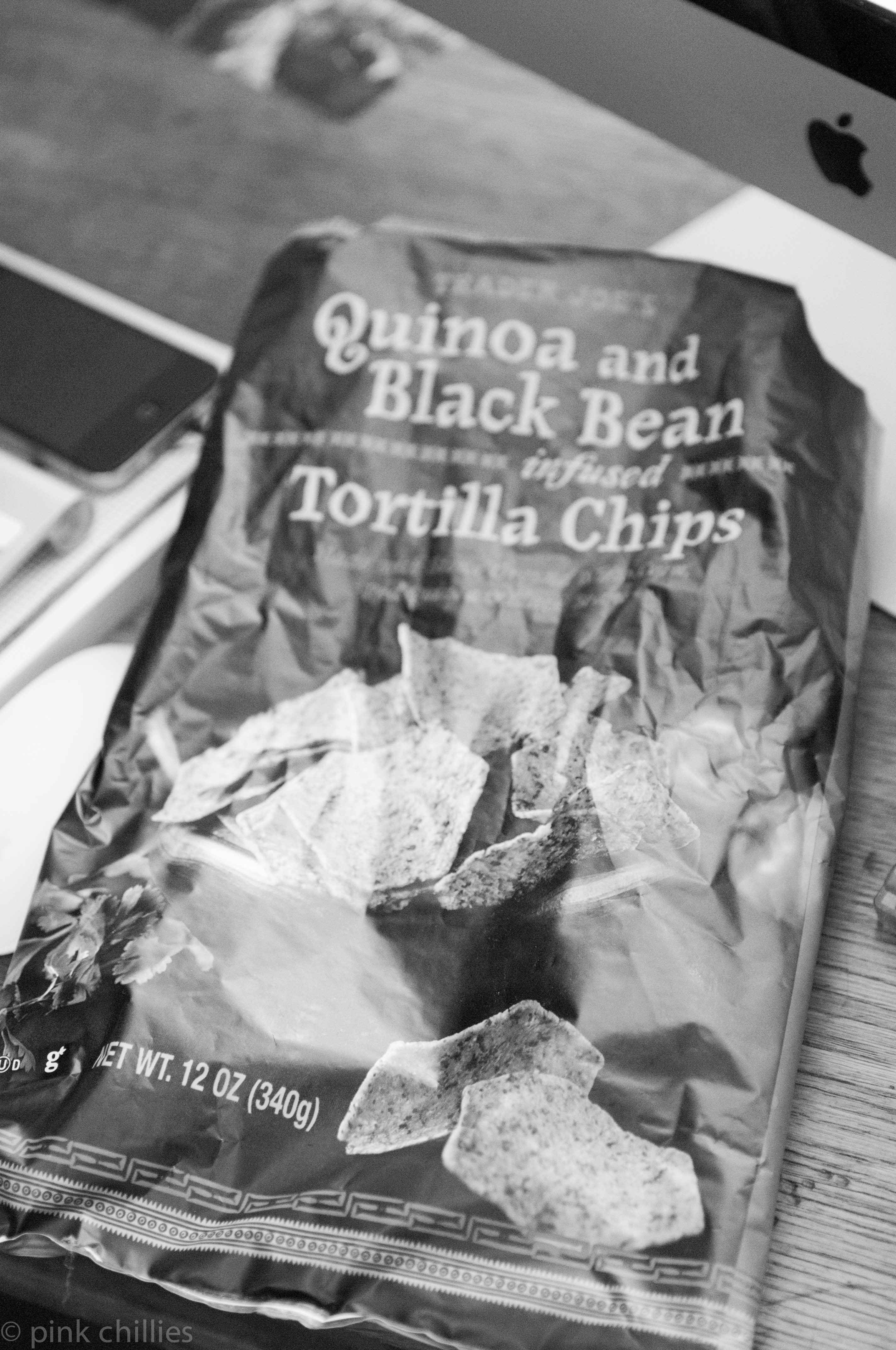 ZAJ_0554Quinoa and Black Bean Tortilia Chips