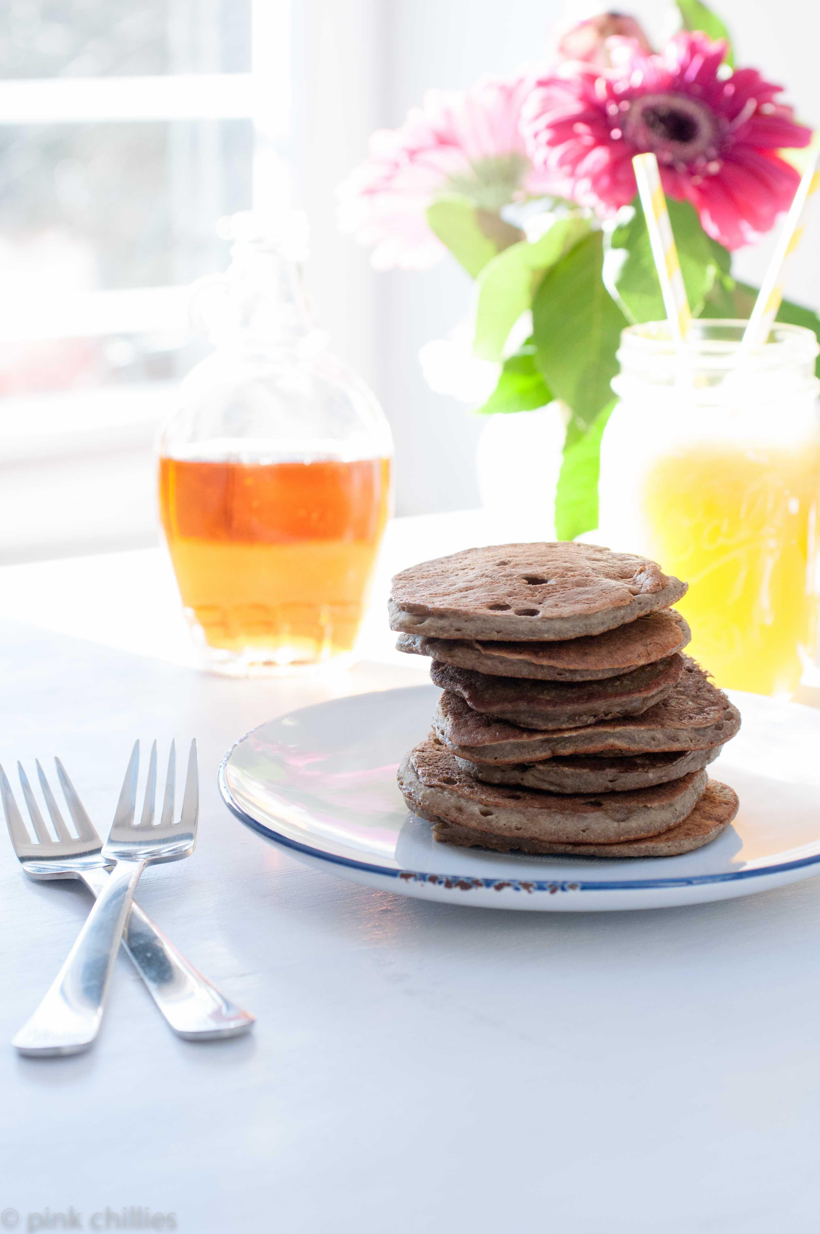 Pancakes glutenfrei und vegan
