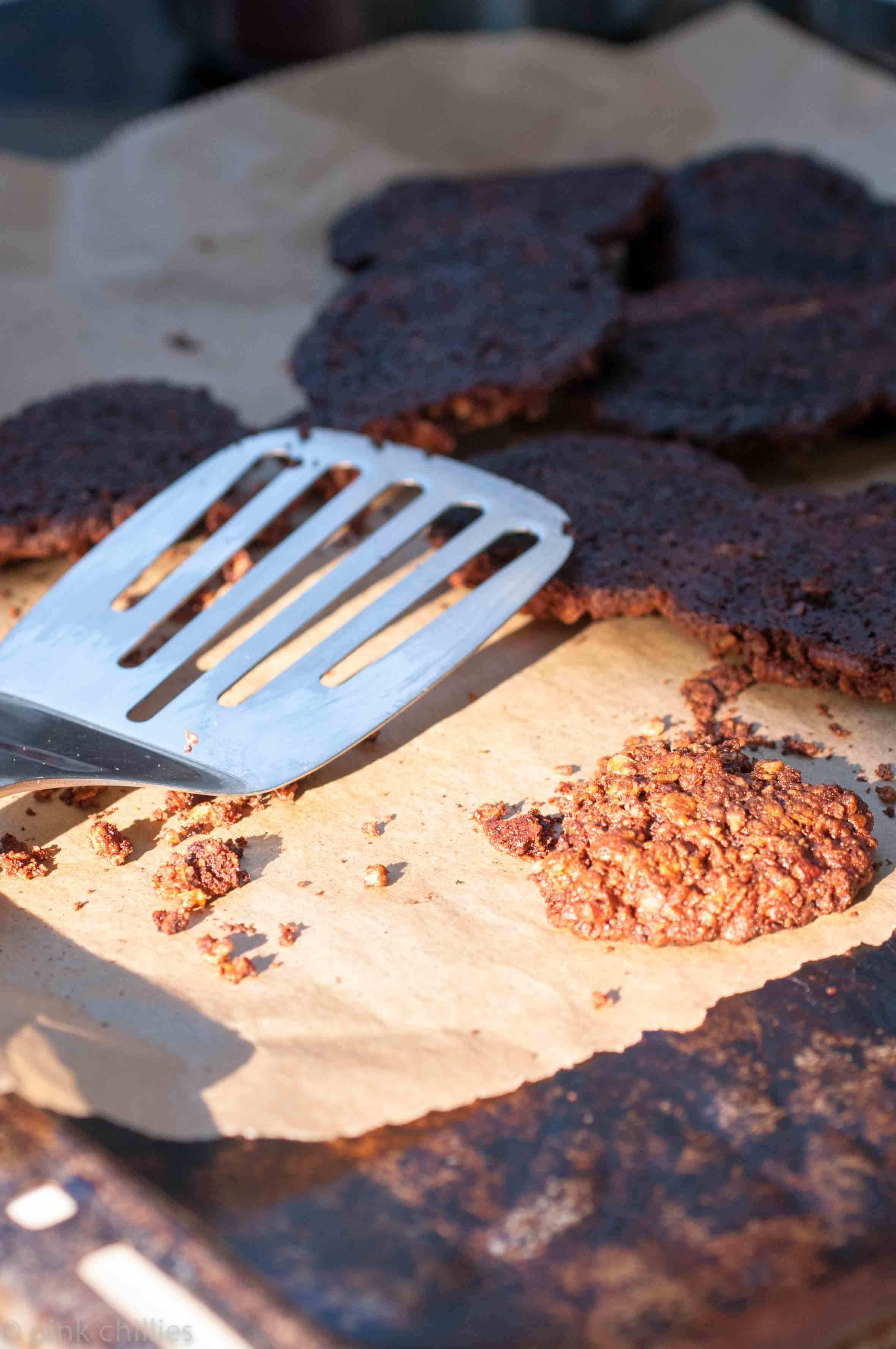 Verbrannte Cookies