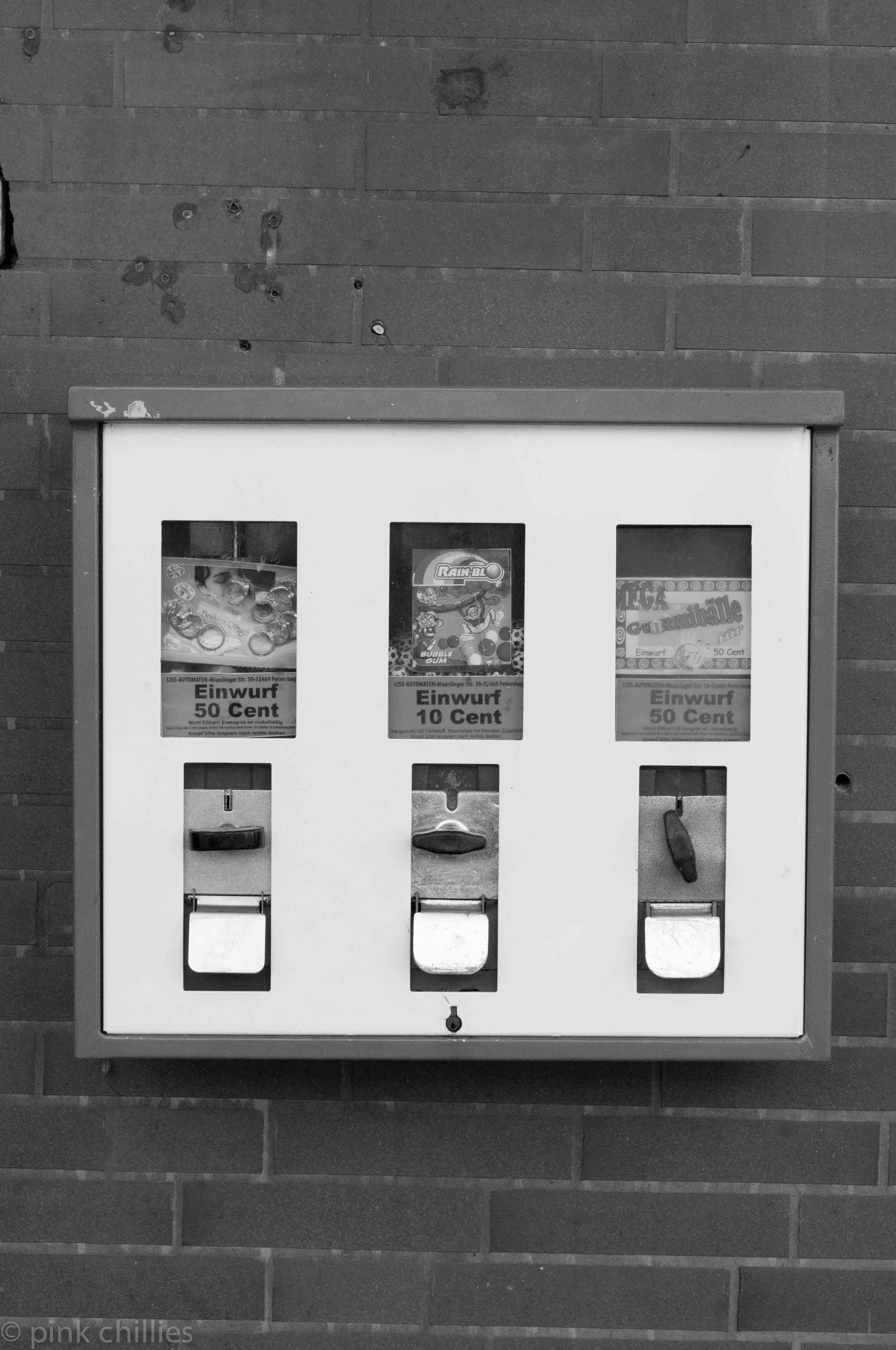 Bohmte Kaugummiautomat