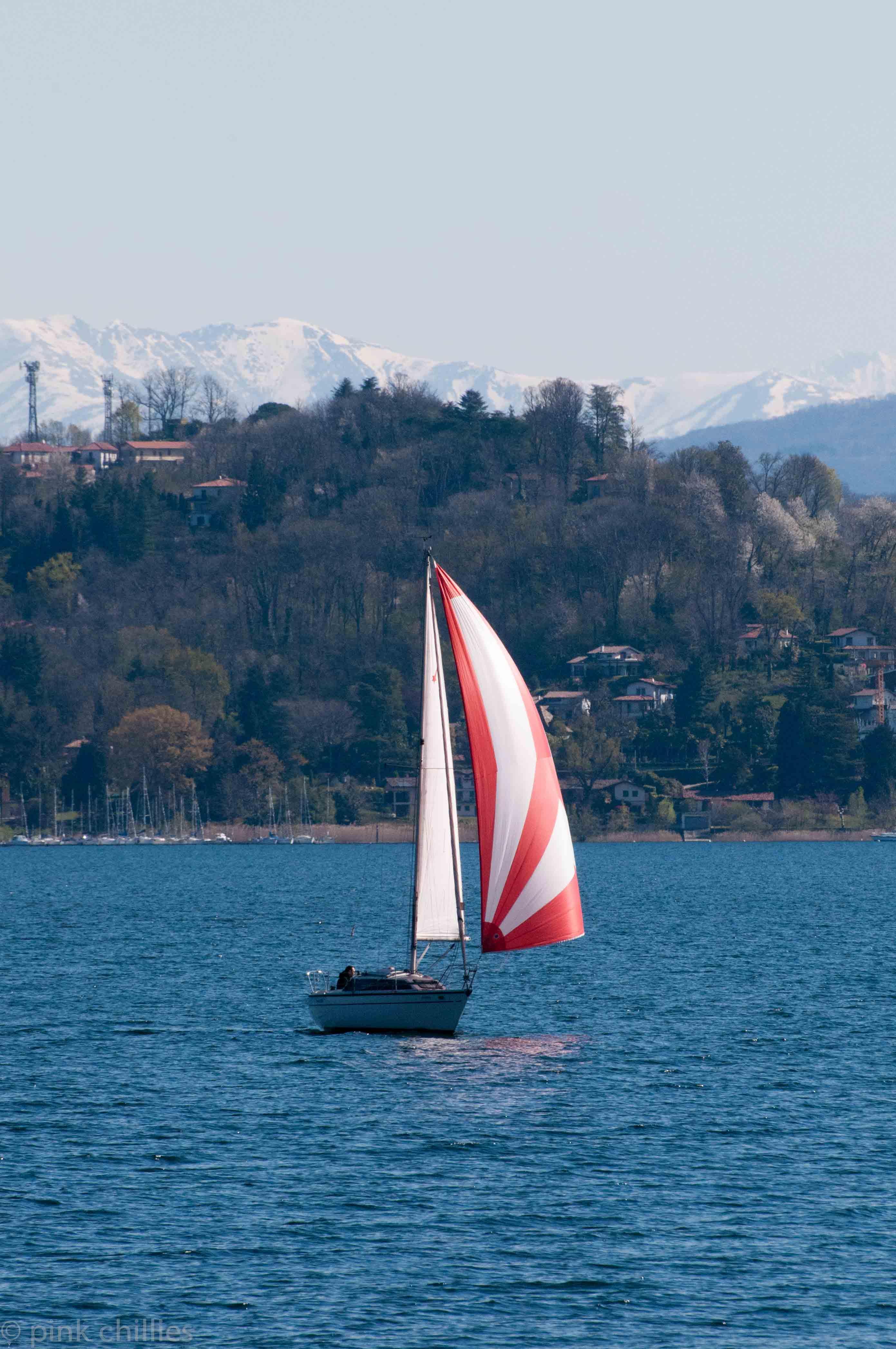 Lago Maggiore Segelboot