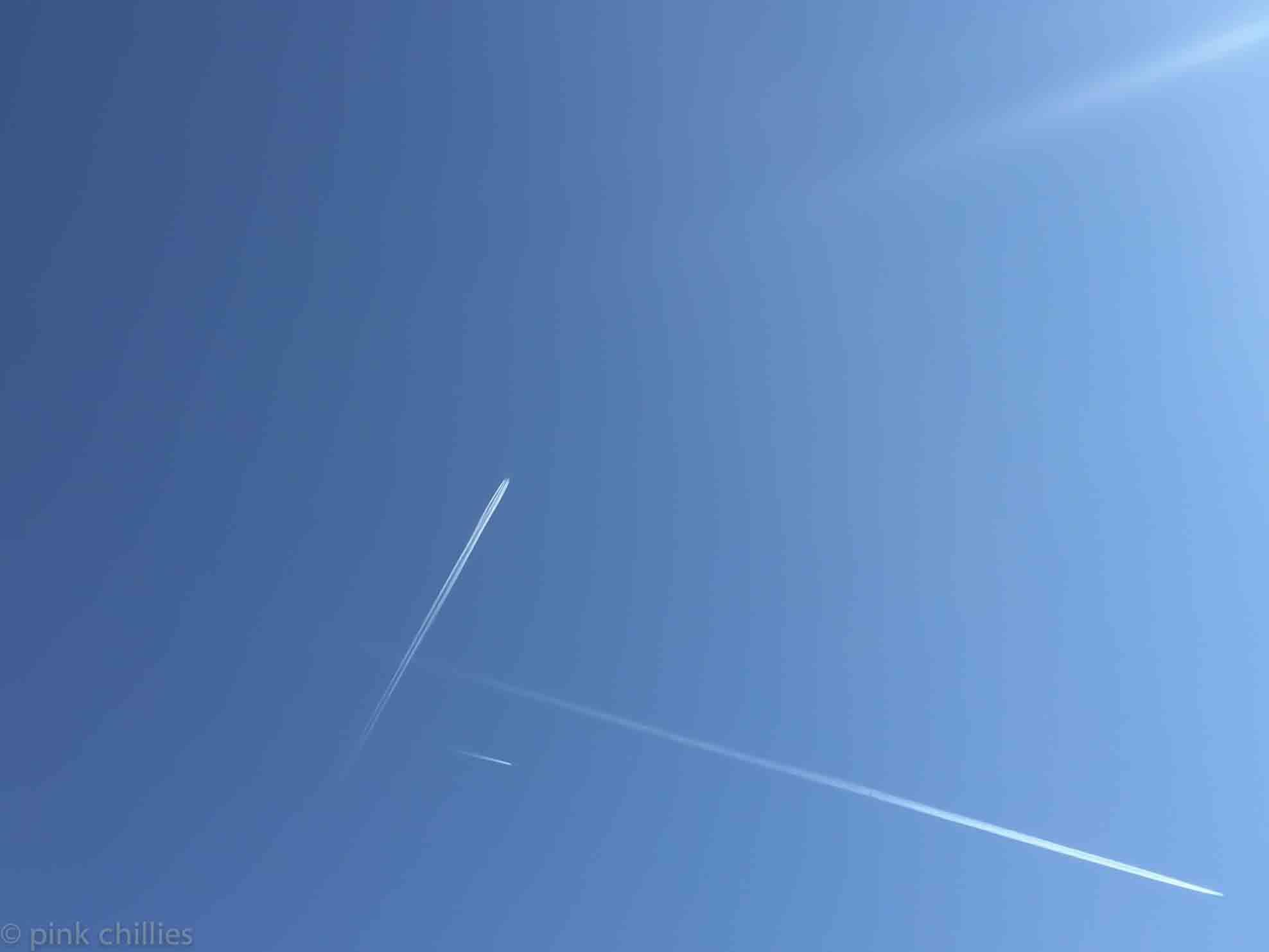 Flugzeuge am Himmel-1106