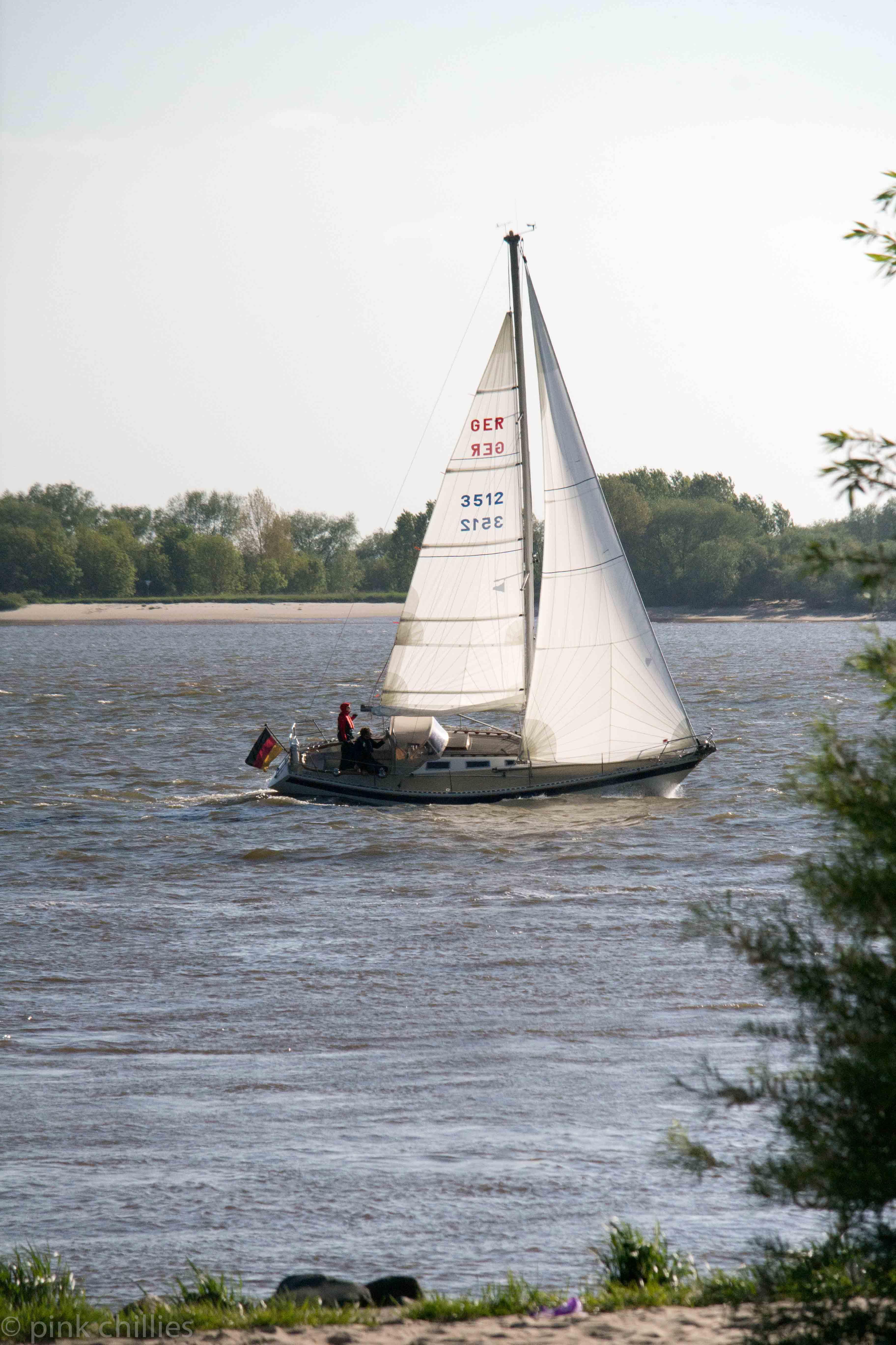 Segelboot GER 3512