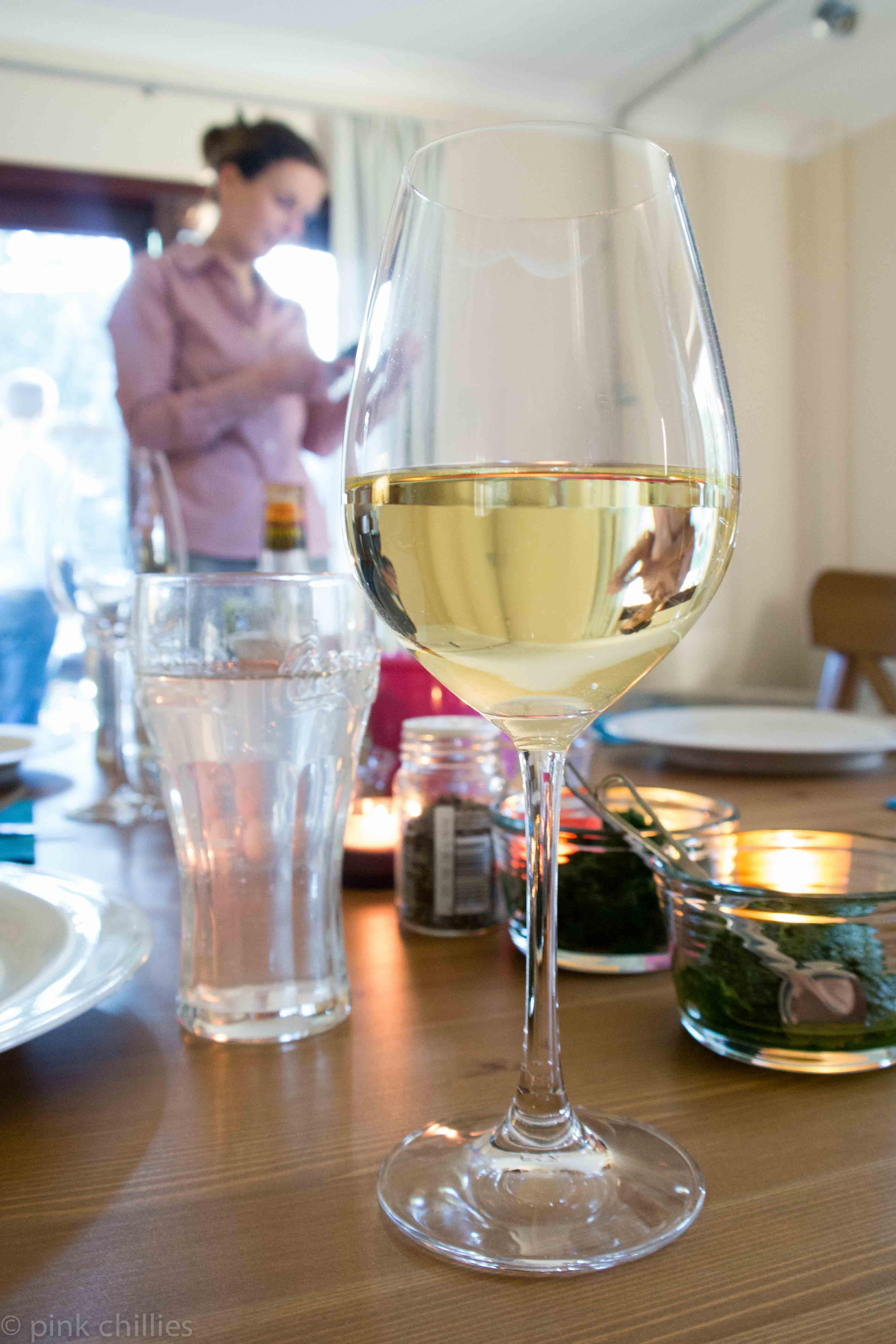 Weißwein zum Grillabend