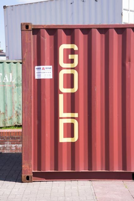 Container gold-1002