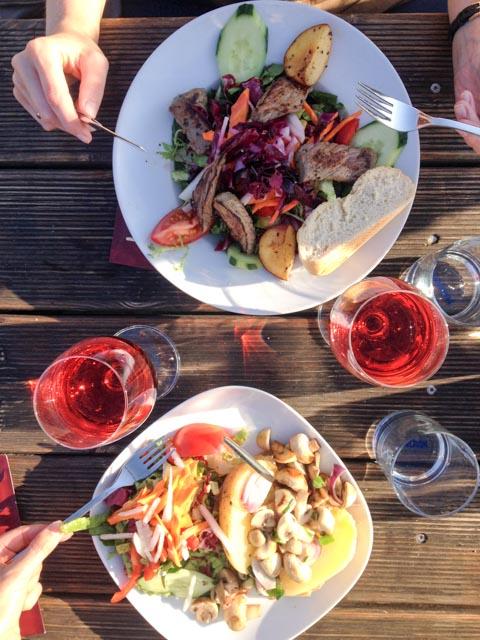 Abendessen am Strand-6073