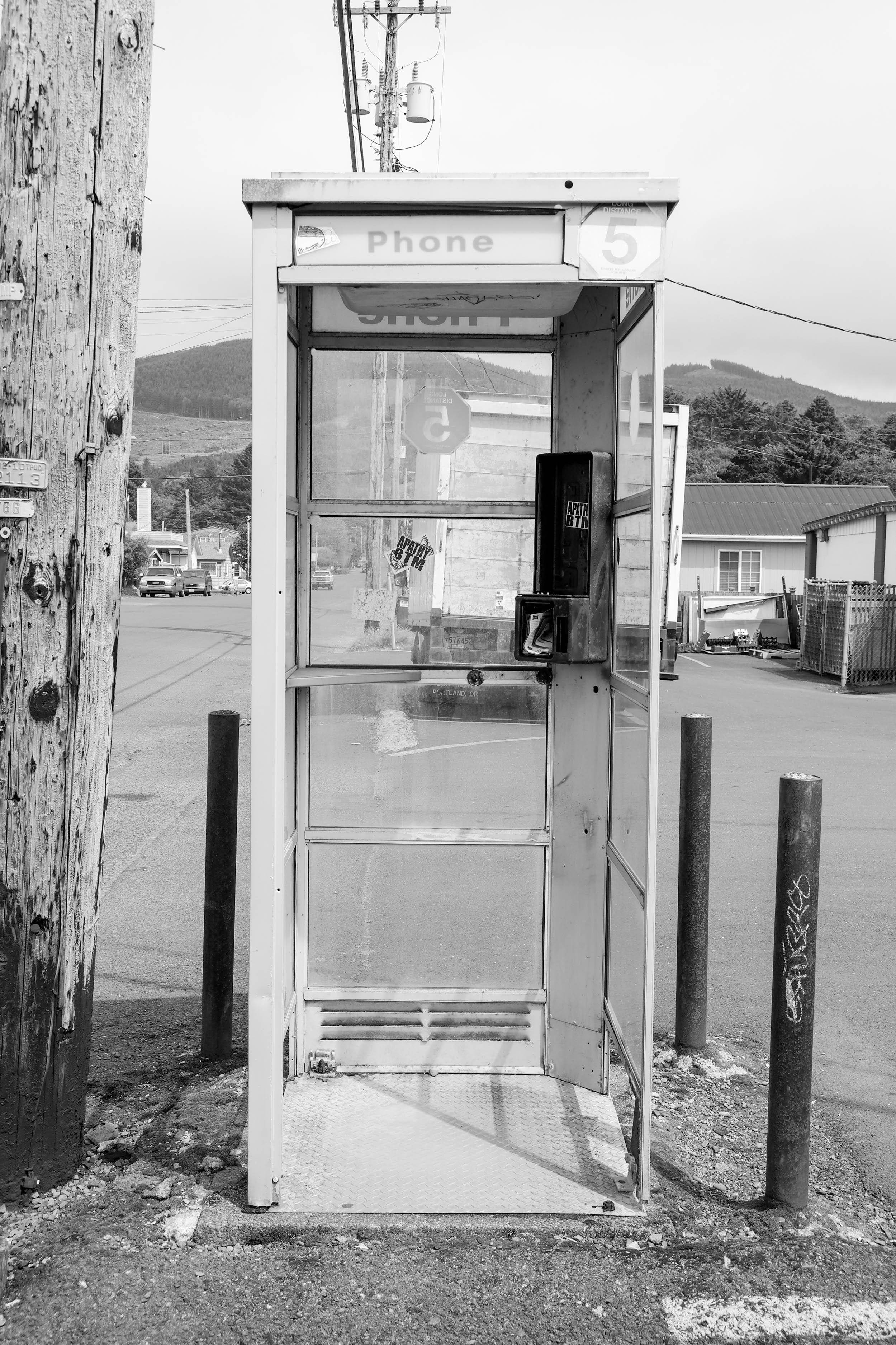 alte Telefonzelle USA