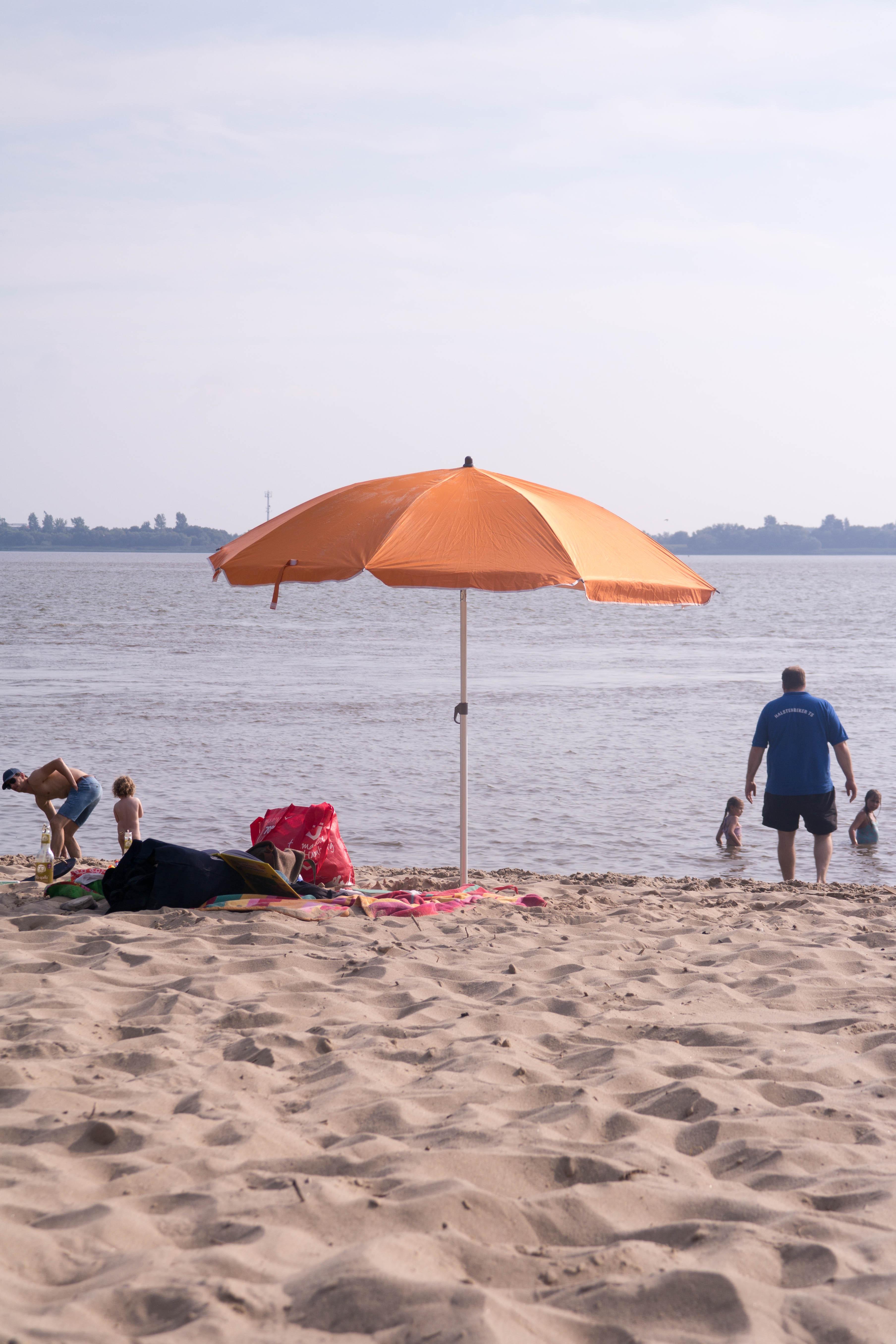 Sonnenschirm Elbe