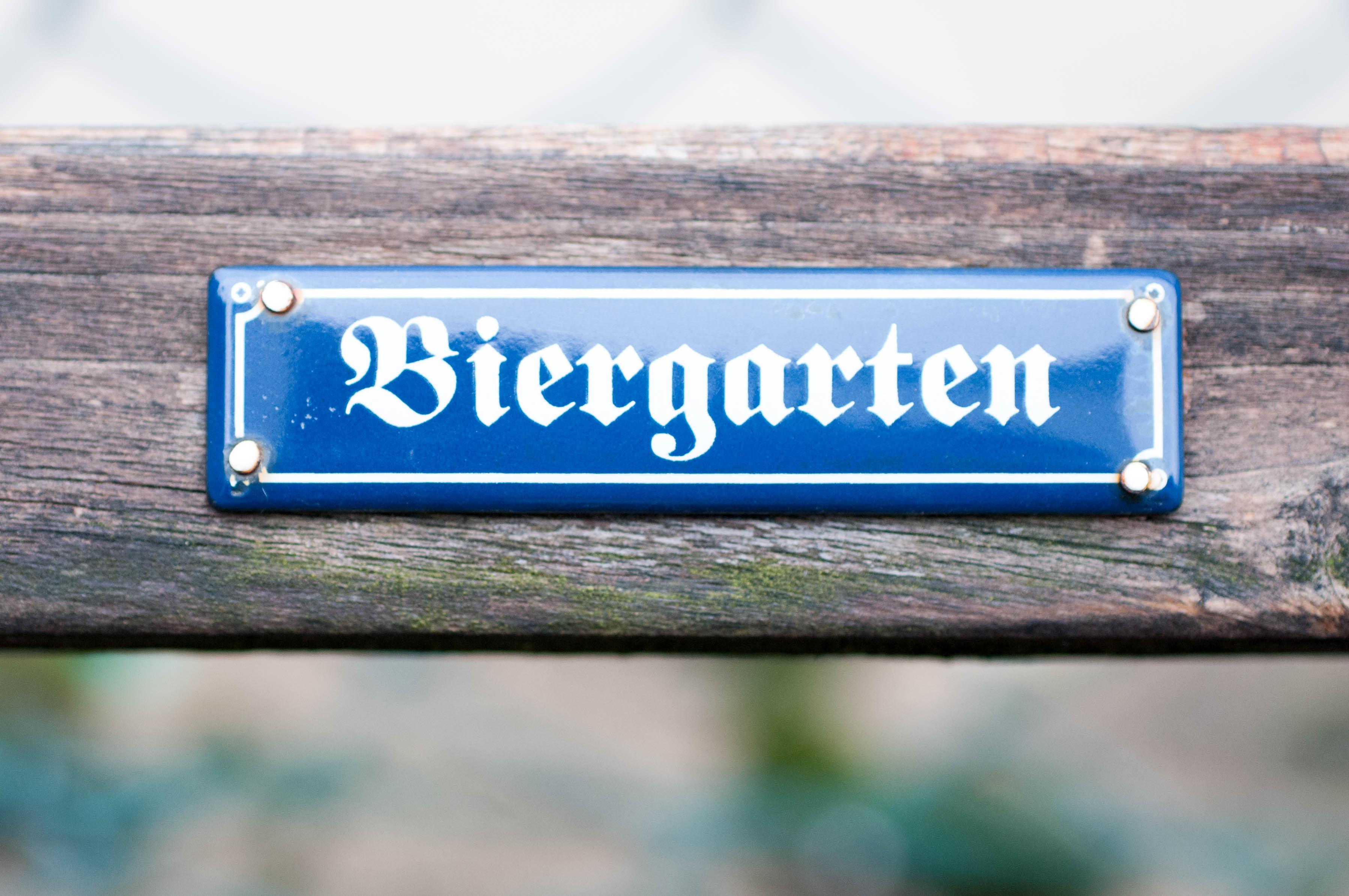 Biergarten Bank