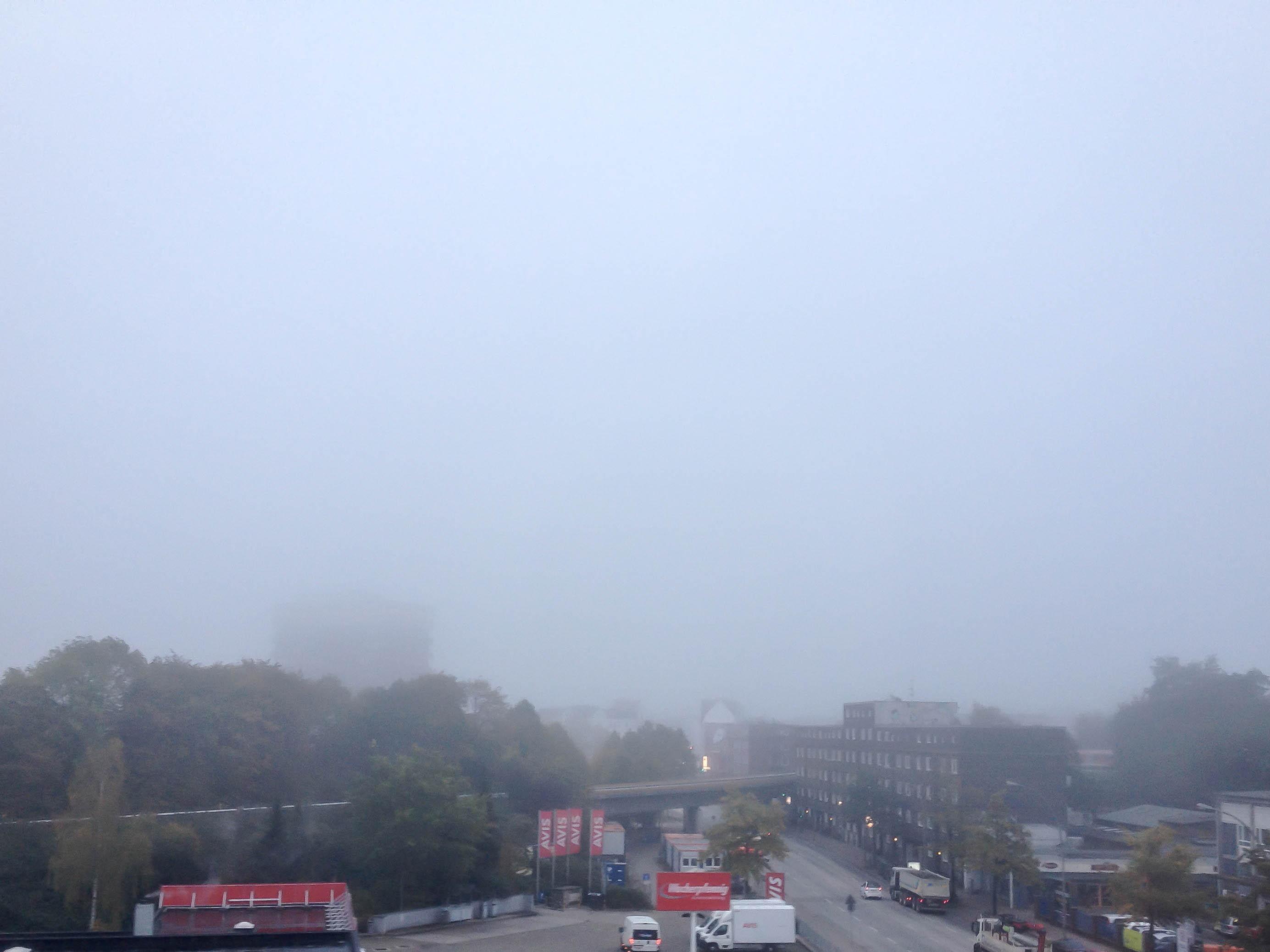 Nebel über Hamburg