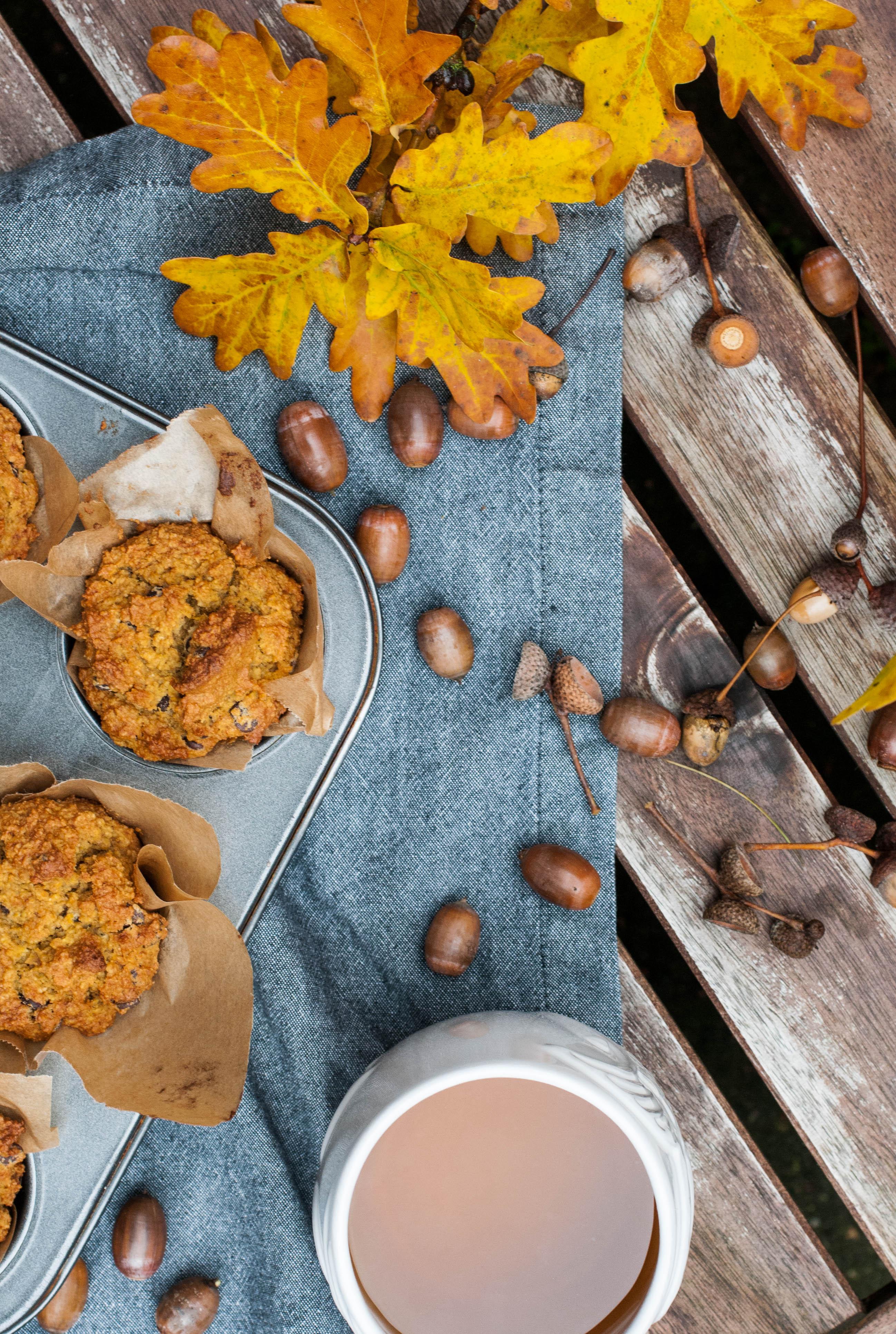 glutenfreie Pumpkin Muffins