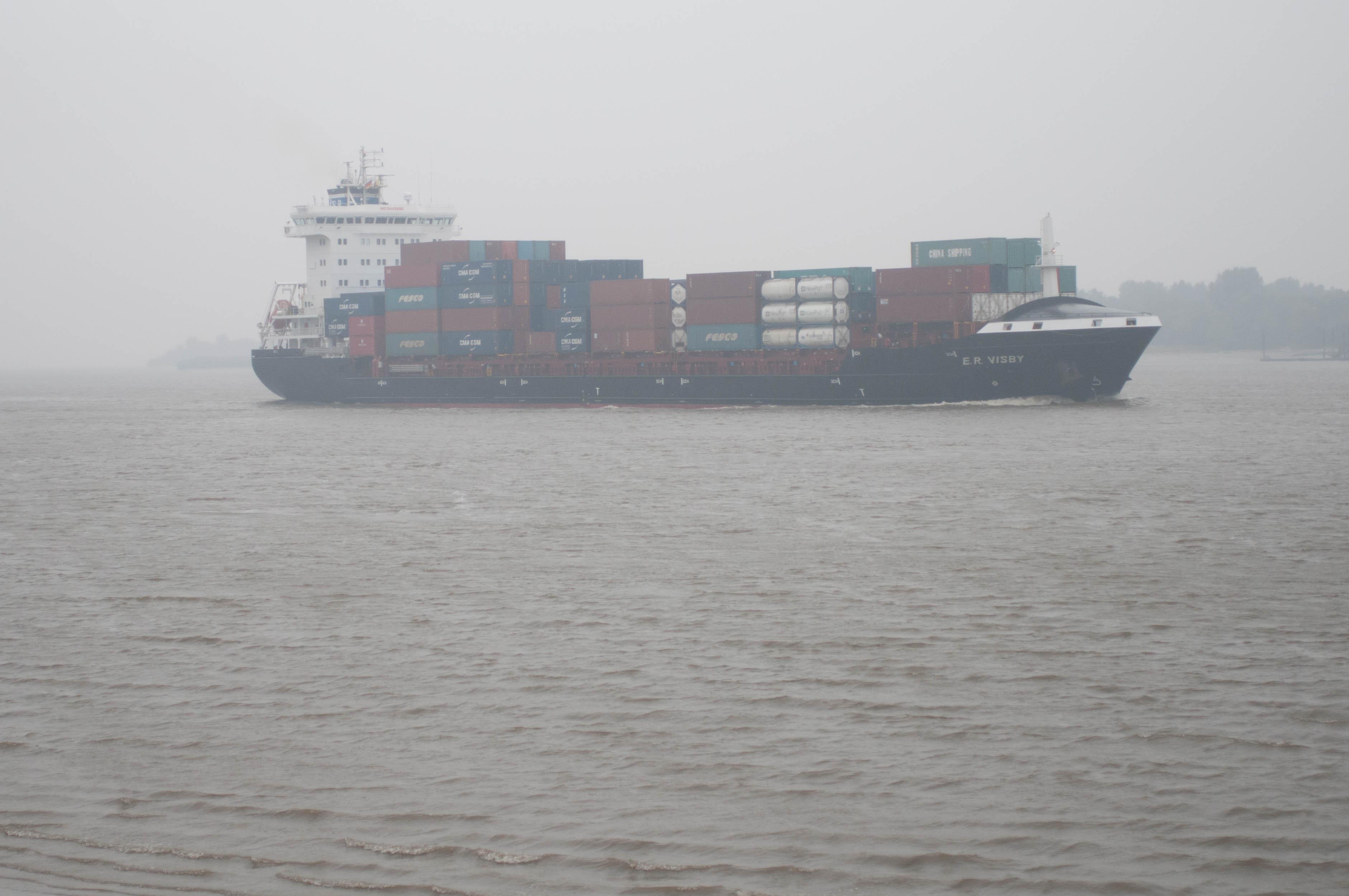 Ship E.R. Visby Elbe
