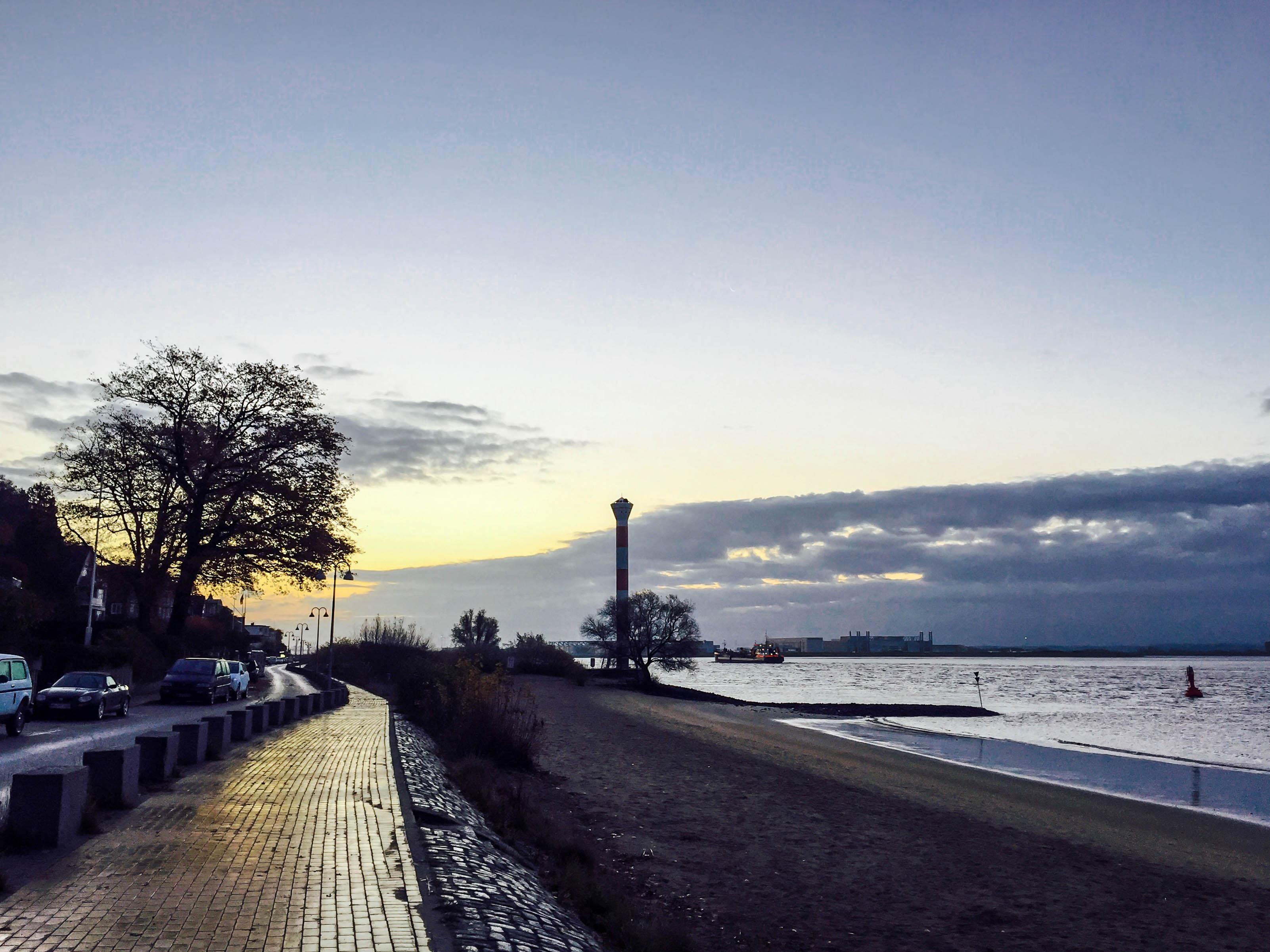 Strandweg Novembermorgen
