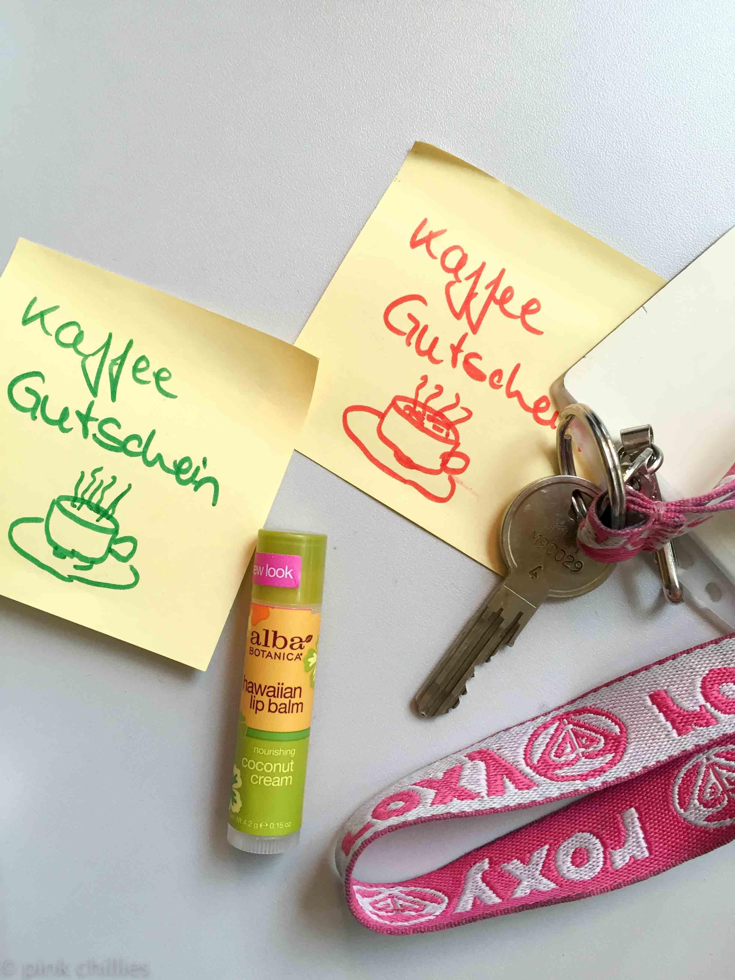 Kaffeegutschein