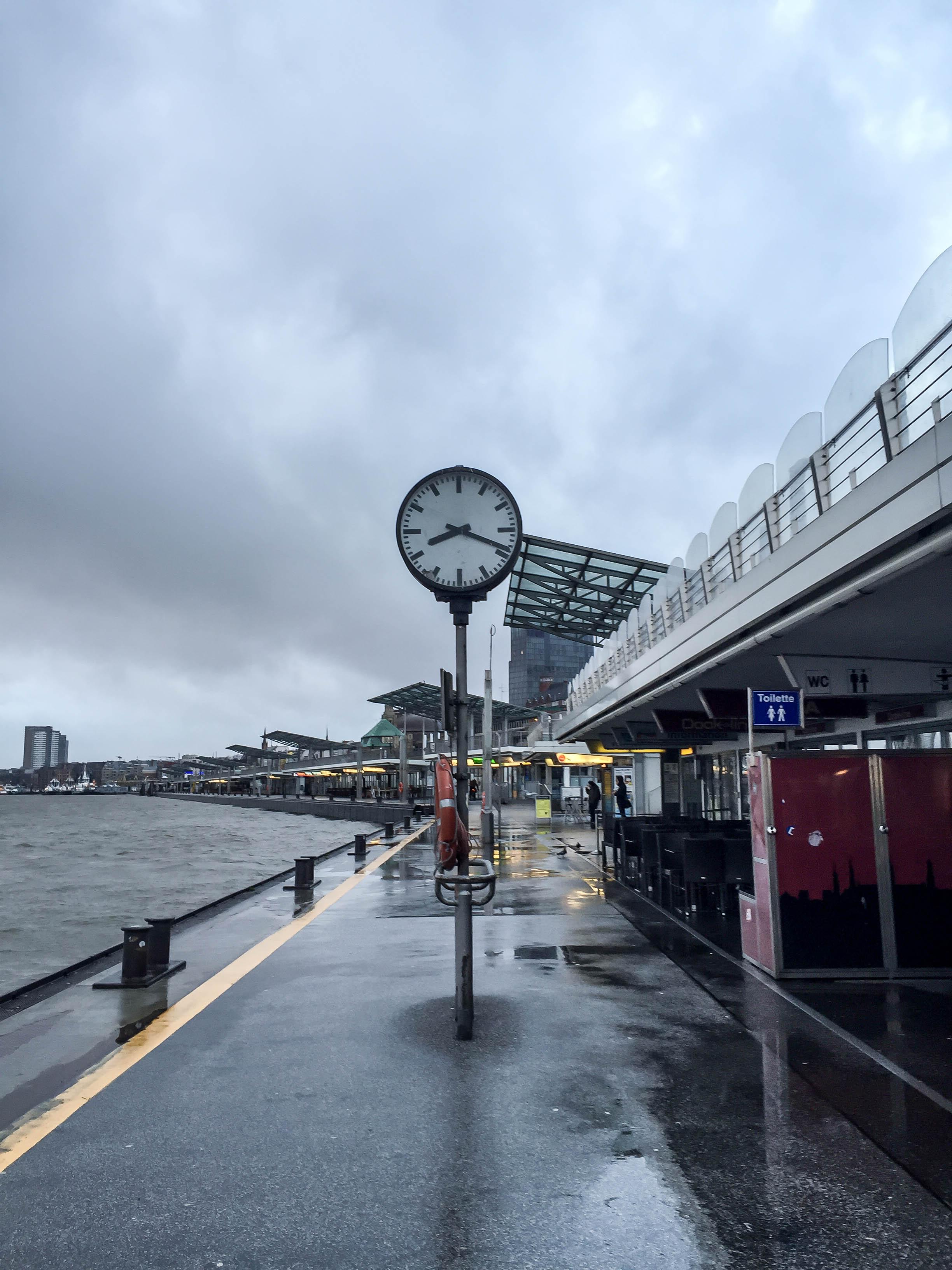 Landungsbrücken Uhr
