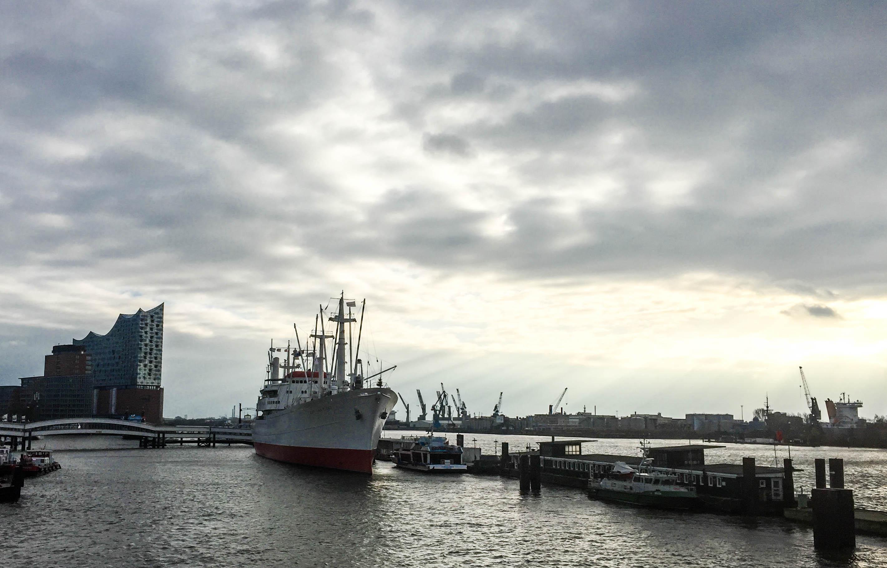Hamburgern Hafen