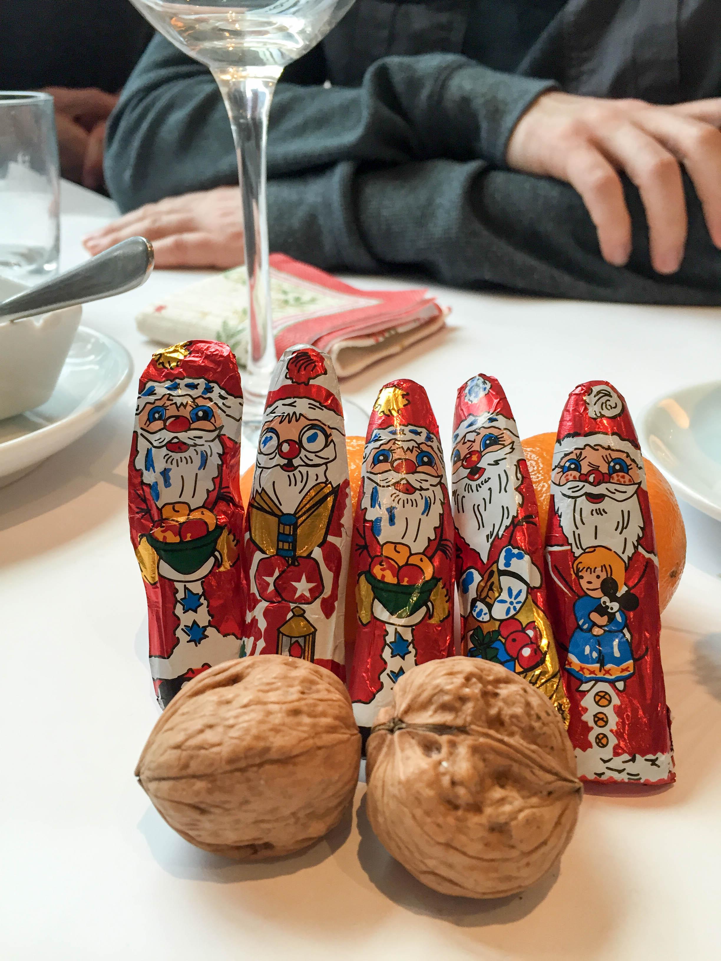 Schokoladenmänner