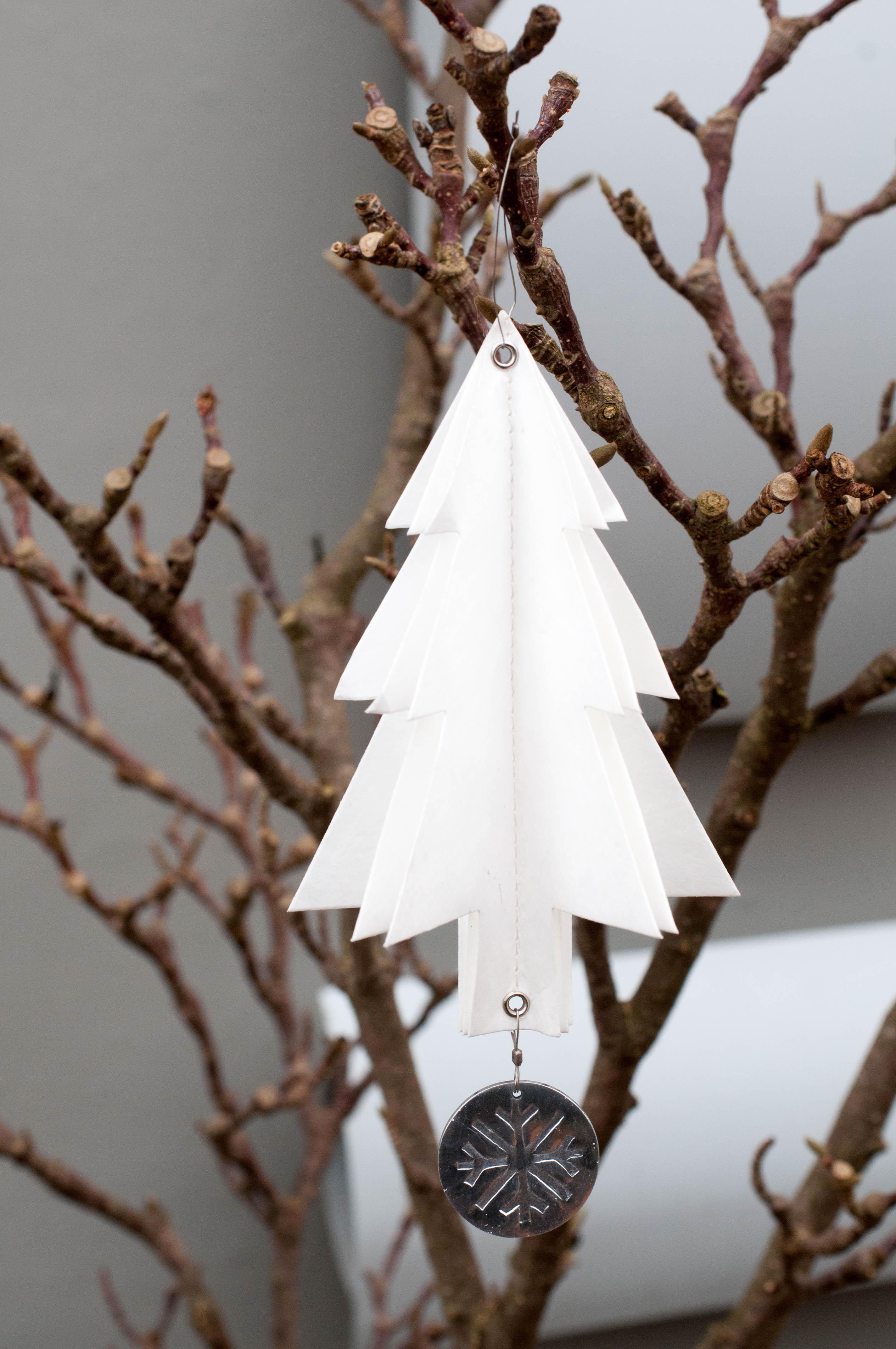Weihnachtsschmuck Tannenbaum Räder