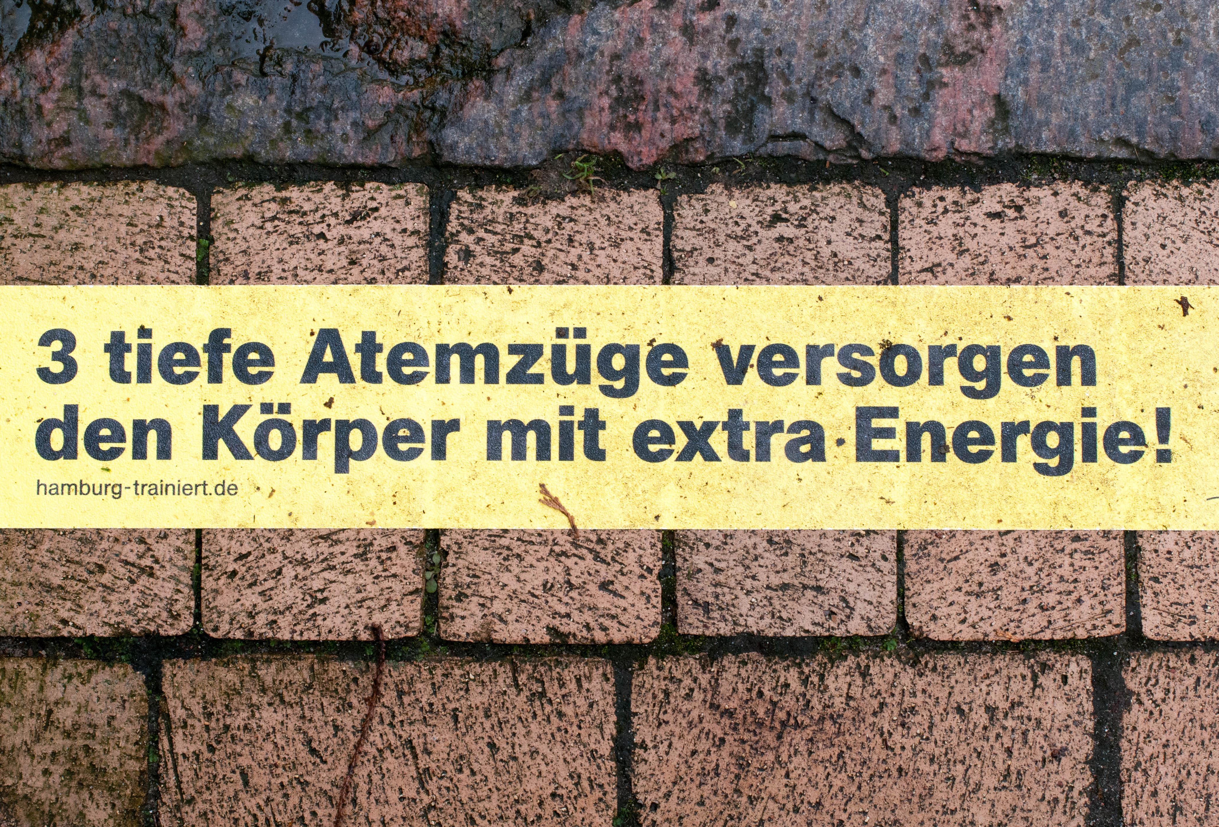 Atemzüge Hamburg Trainiert