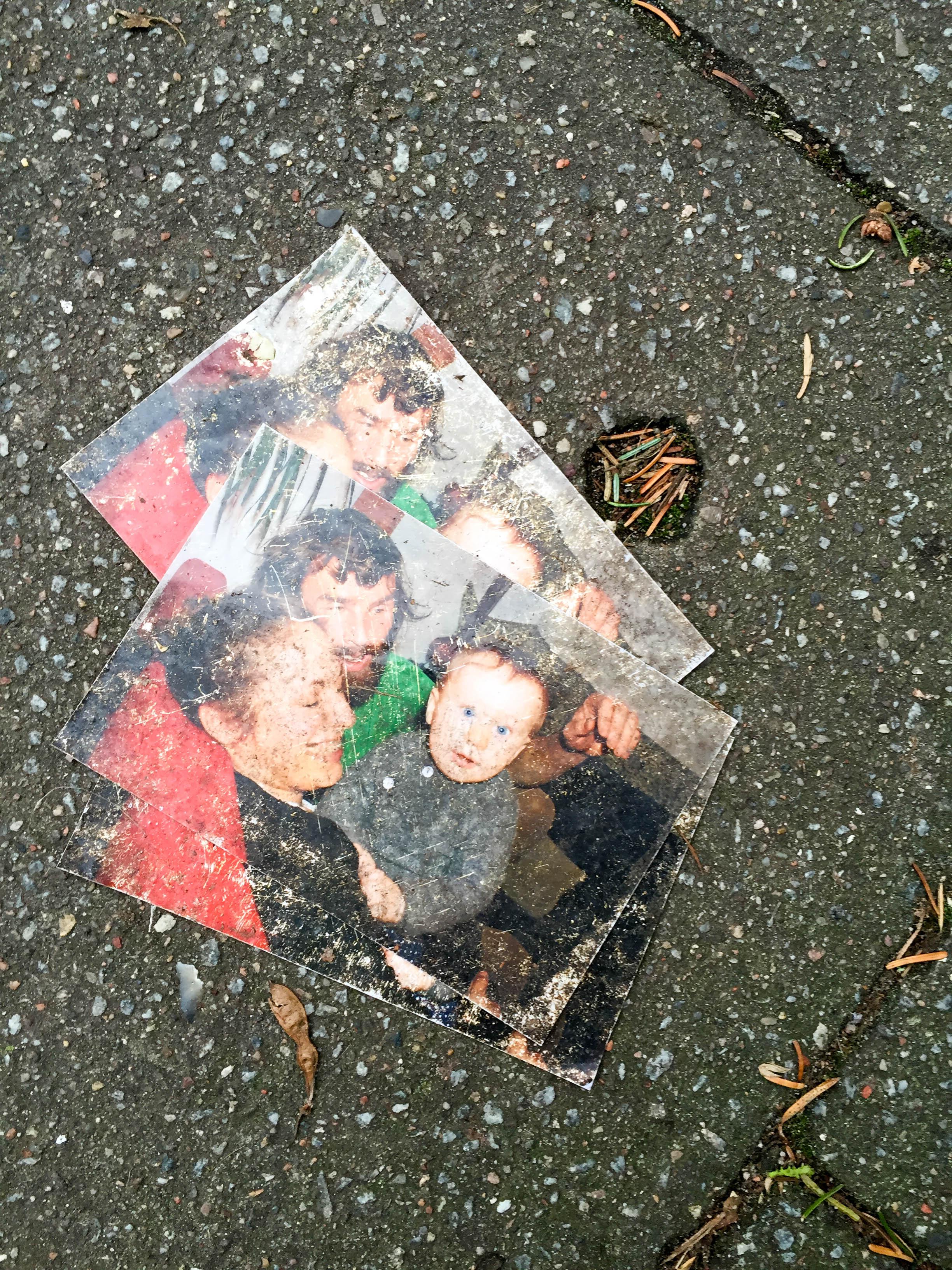 Fotos auf Straße